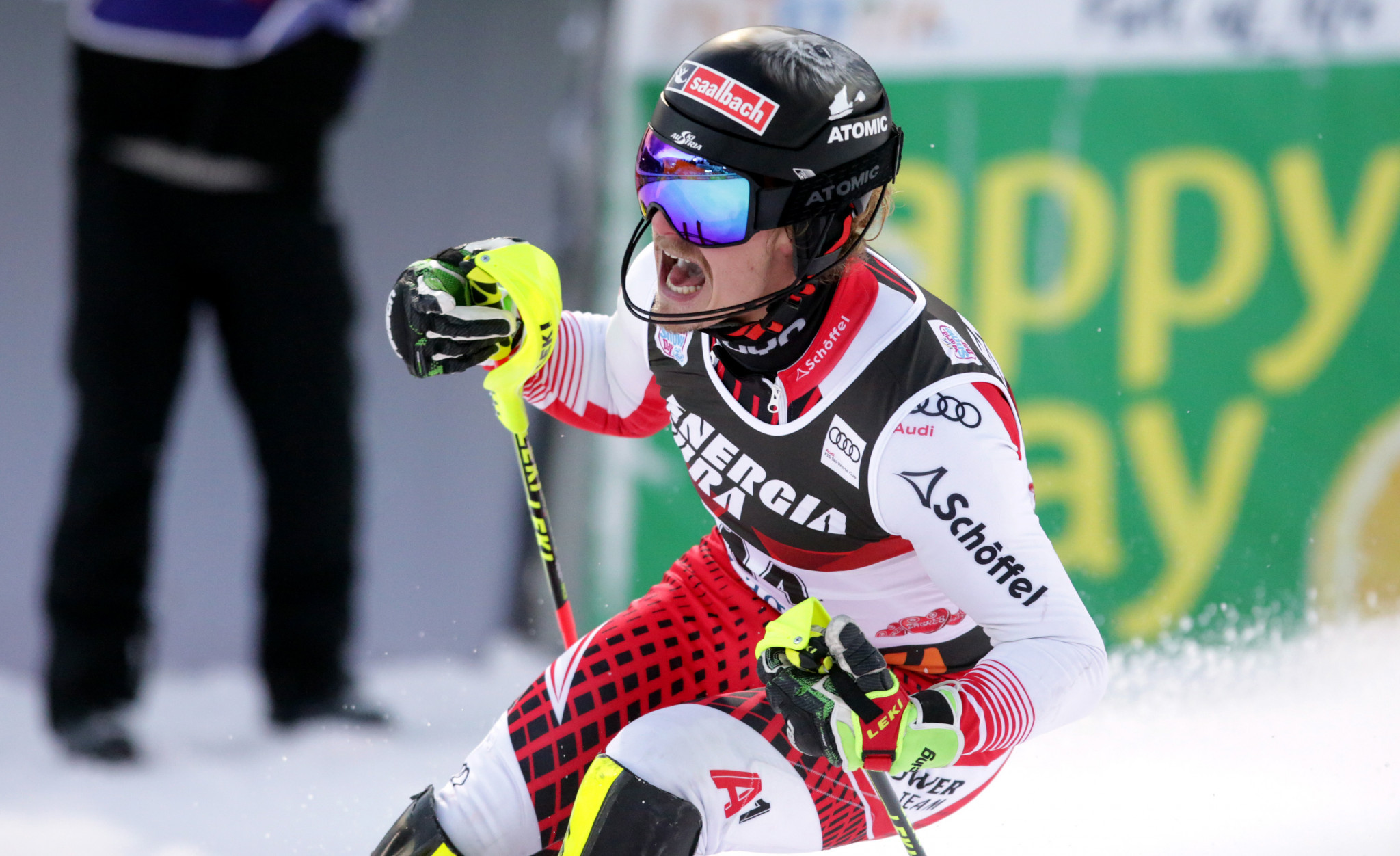 Seven-time World Cup champion Marcel Hirscher has returned to winning ways in Zagreb ©Getty Images