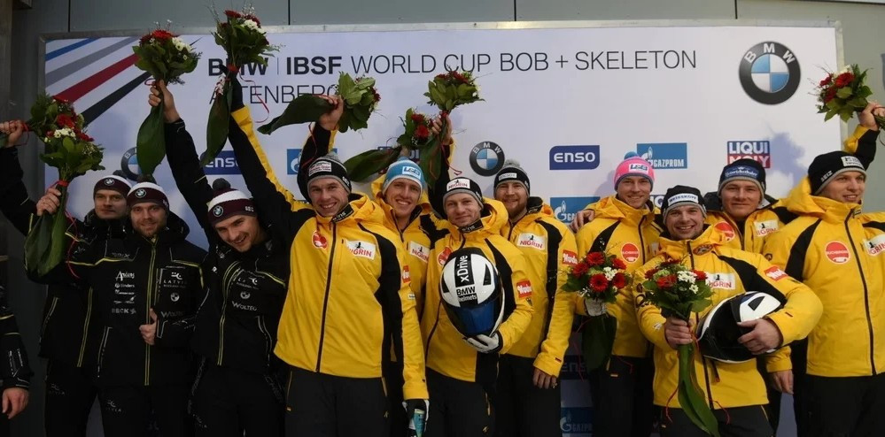 Friedrich earns second win in successive days at IBSF World Cup in Altenberg