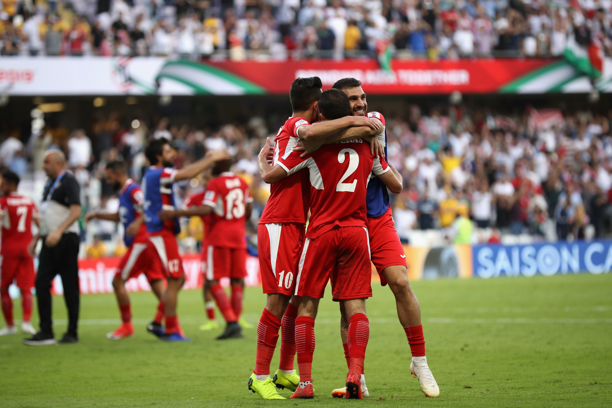 Jordan ease past Syria to seal knock-out spot at AFC Asian Cup