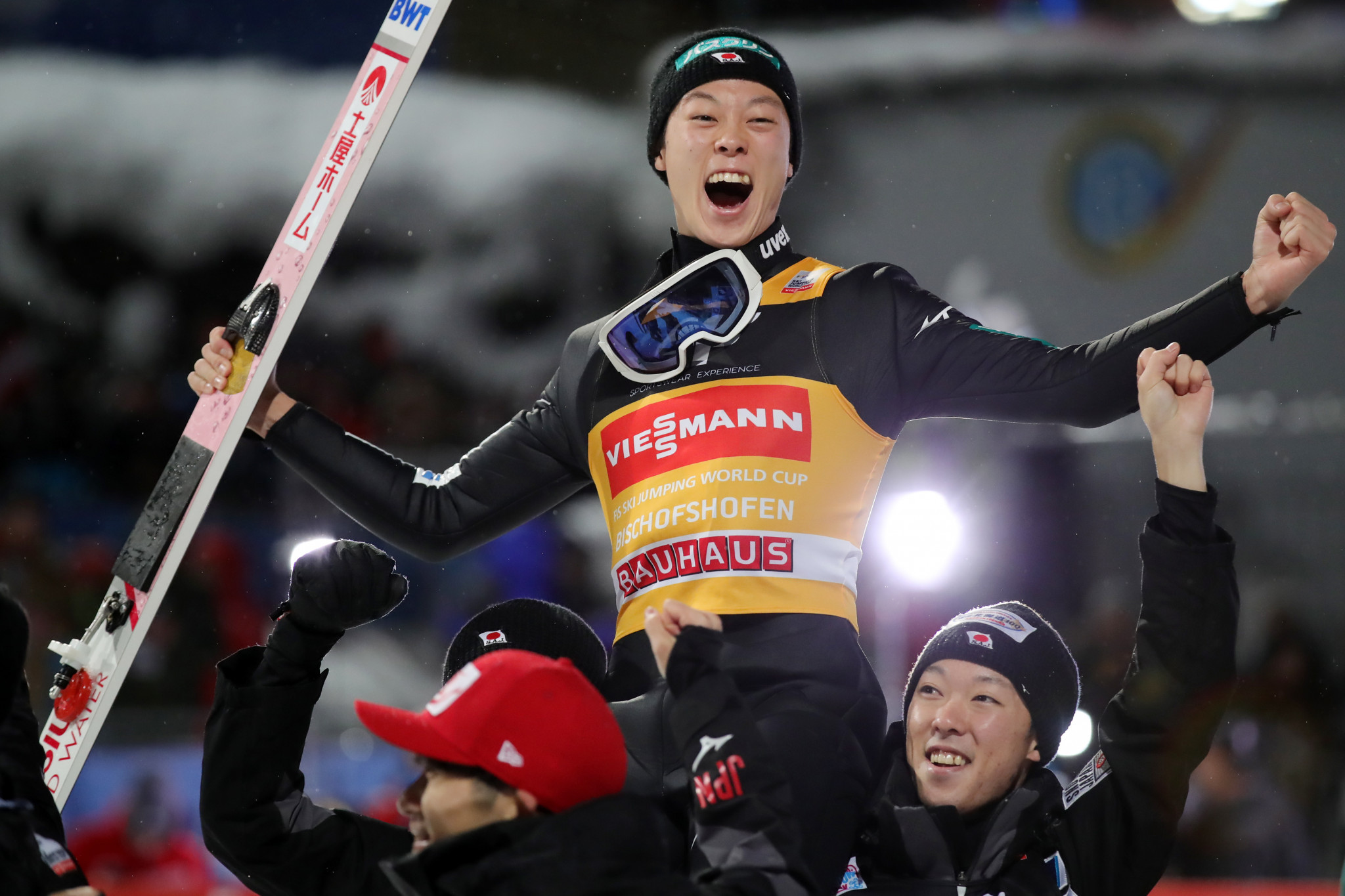 Ryoyu Kobayashi also became the first Asian winner of the Four Hills Tournament since 1998 ©Getty Images