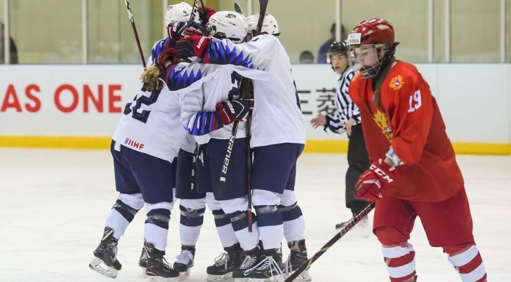 United States begin pursuit of fifth straight IIHF Women's Under-18 World Championship with win
