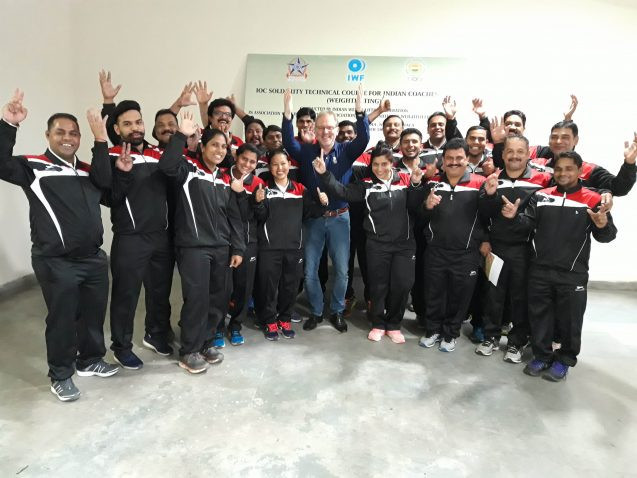 International Weightlifting Federation coaching course held in India
