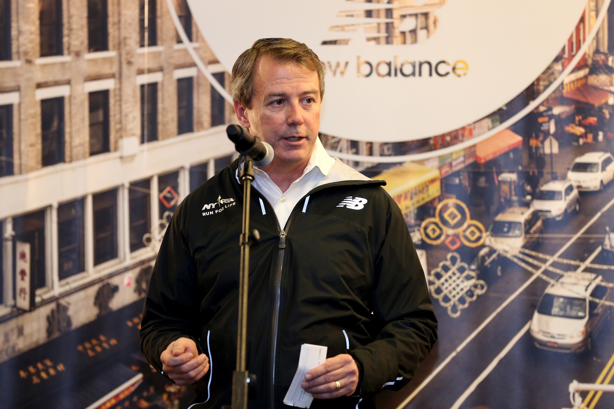 Rob DeMartini will leave his role as President and chief executive of New Balance Athletics, to become chief executive of USA Cycling ©Getty Images