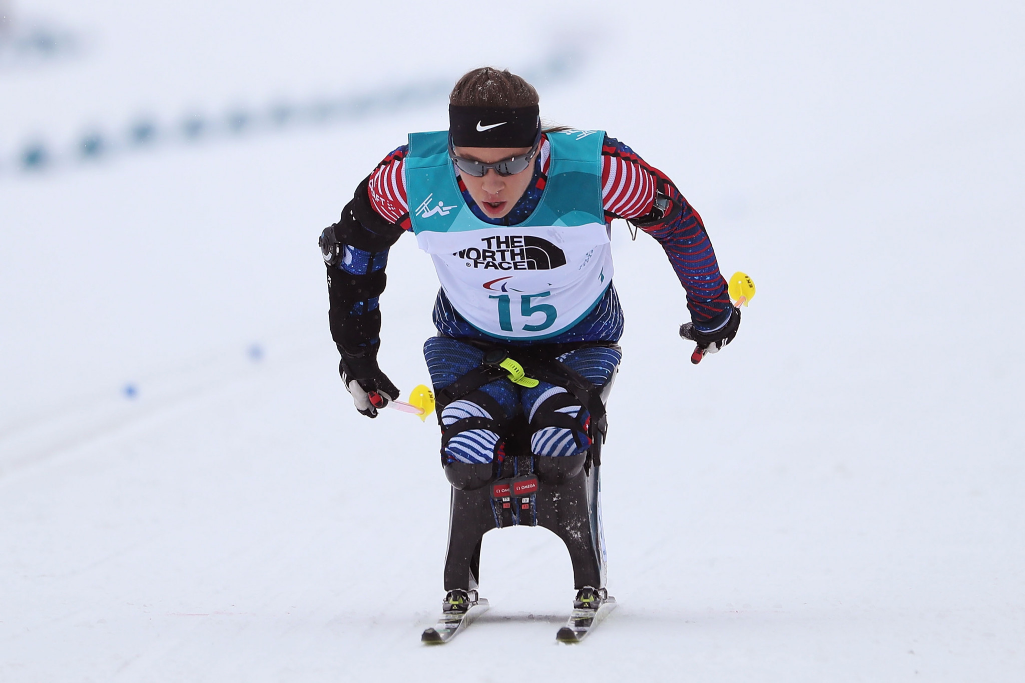 Paralympic champion Oksana Masters won two national titles at the US Paralympics Nordic Nationals in Vermont ©Getty Images