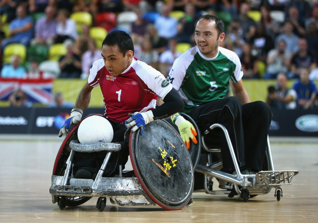 Canada and Great Britain off to winning starts at the BT World Wheelchair Rugby Challenge