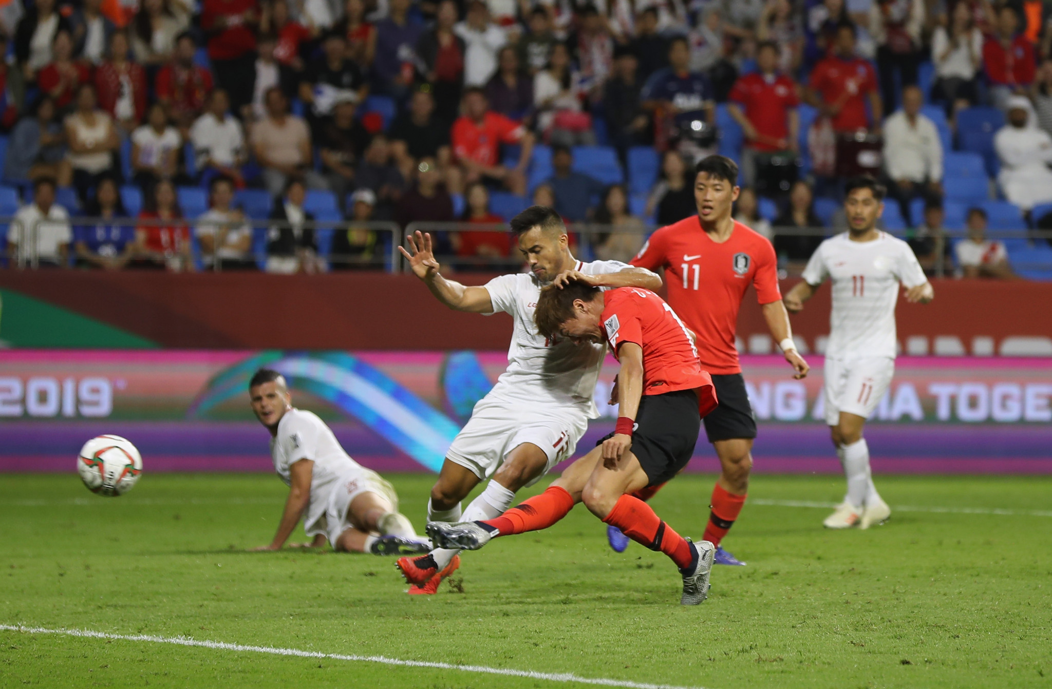 South Korea beat tournament debutants Philippines in AFC Asian Cup opener