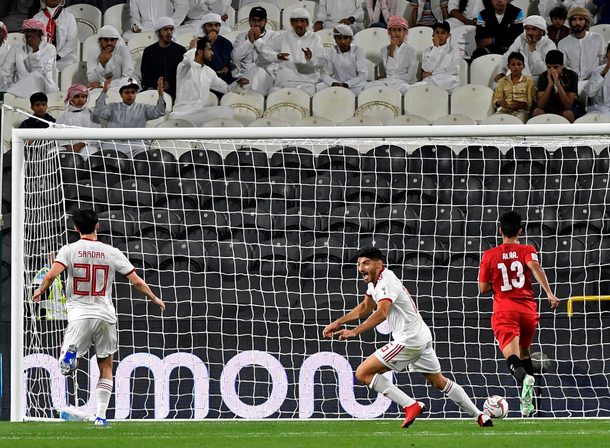 Iran cruised to a 5-0 victory over Yemen in Group D ©Getty Images