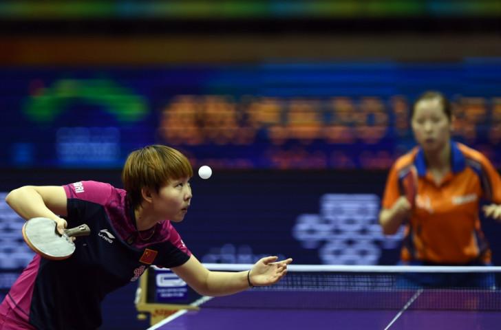 China's Zhu Yuling ended The Netherlands' Li Jie's impressive run in the women's singles