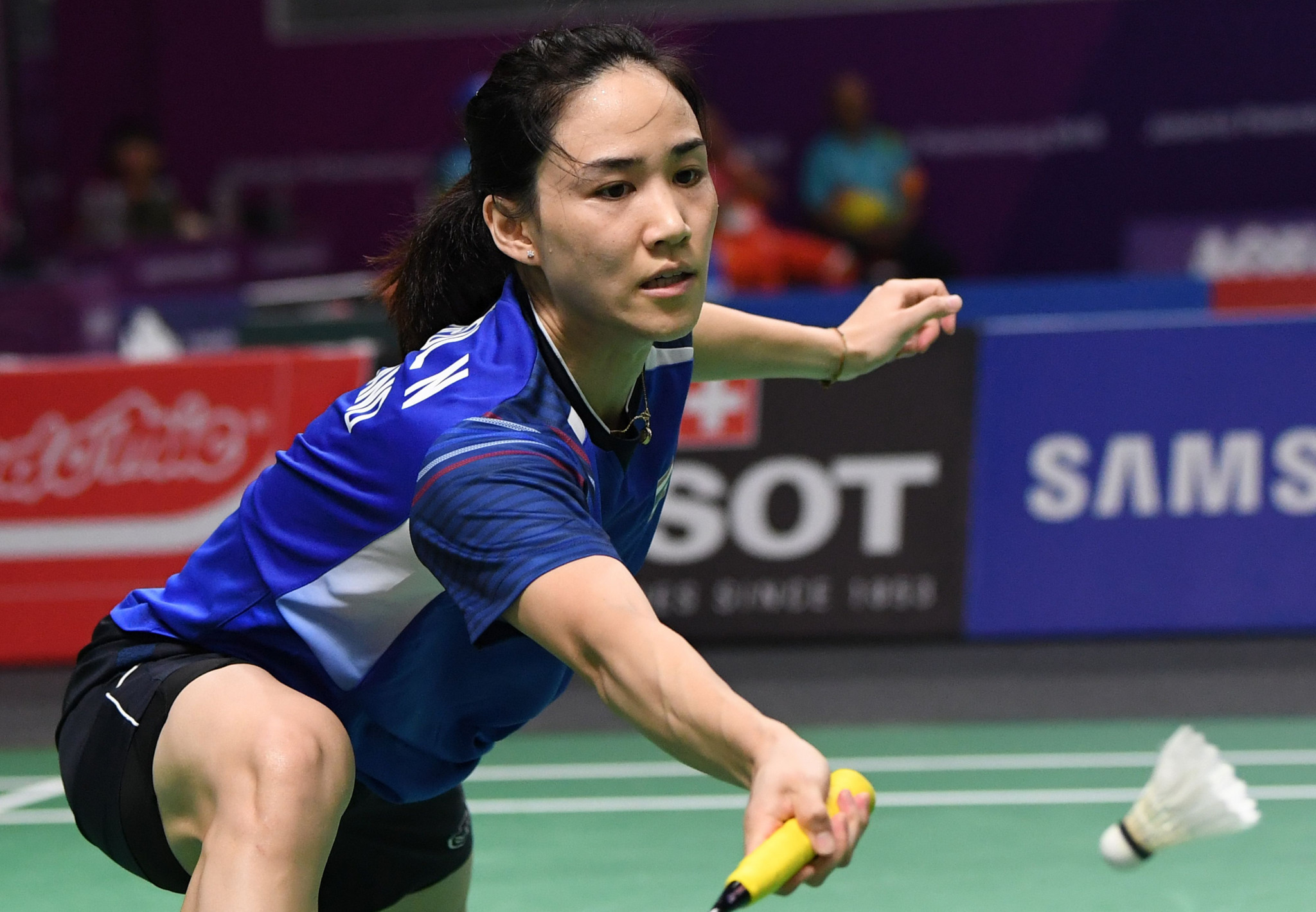 Thailand's Nitchaon Jindapol will look to defend her BWF Thailand Masters title in front of a home crowd ©Getty Images