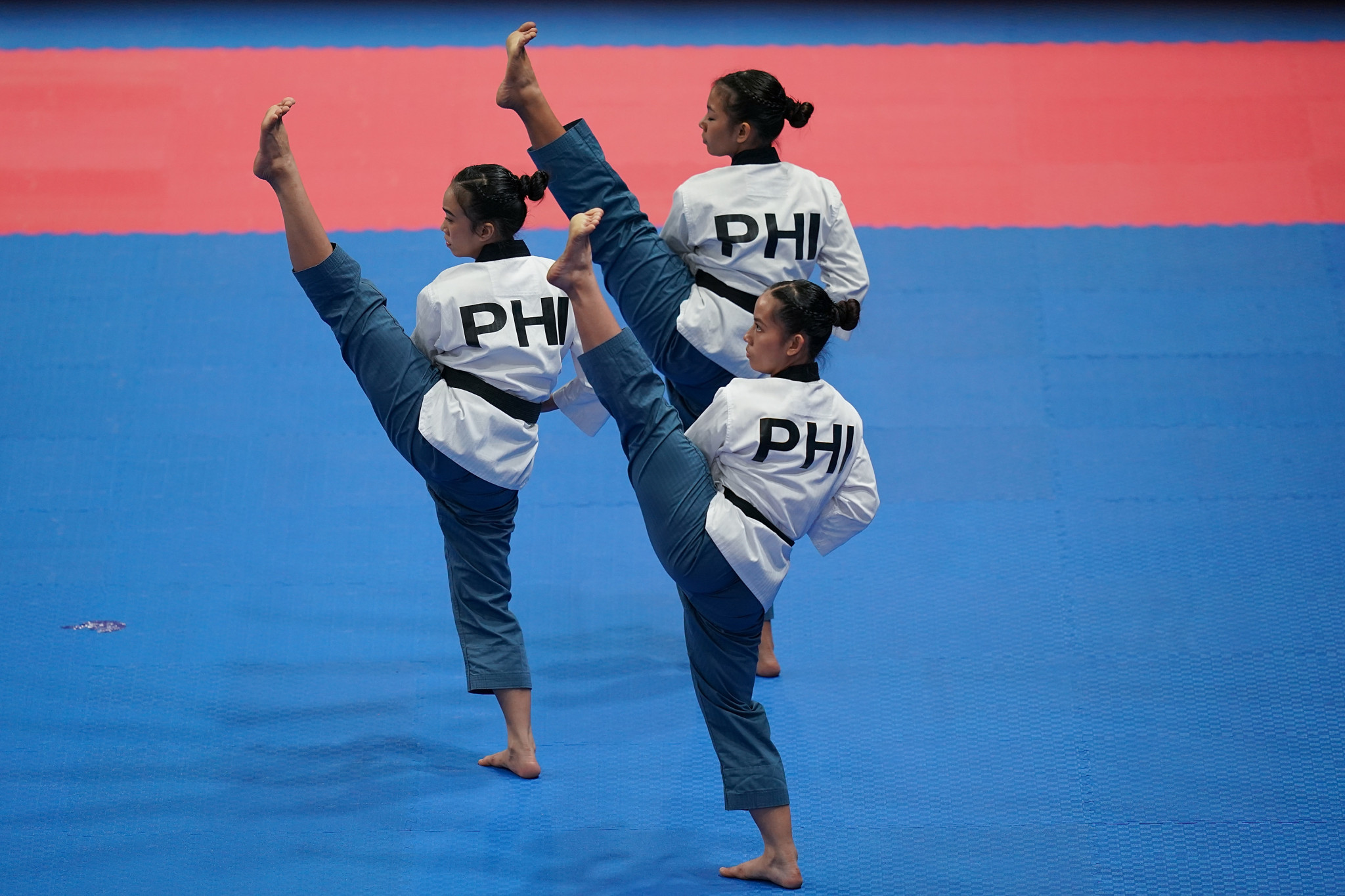 Poomsae taekwondo featured at the Asian Games for the first time in 2018 ©Getty Images