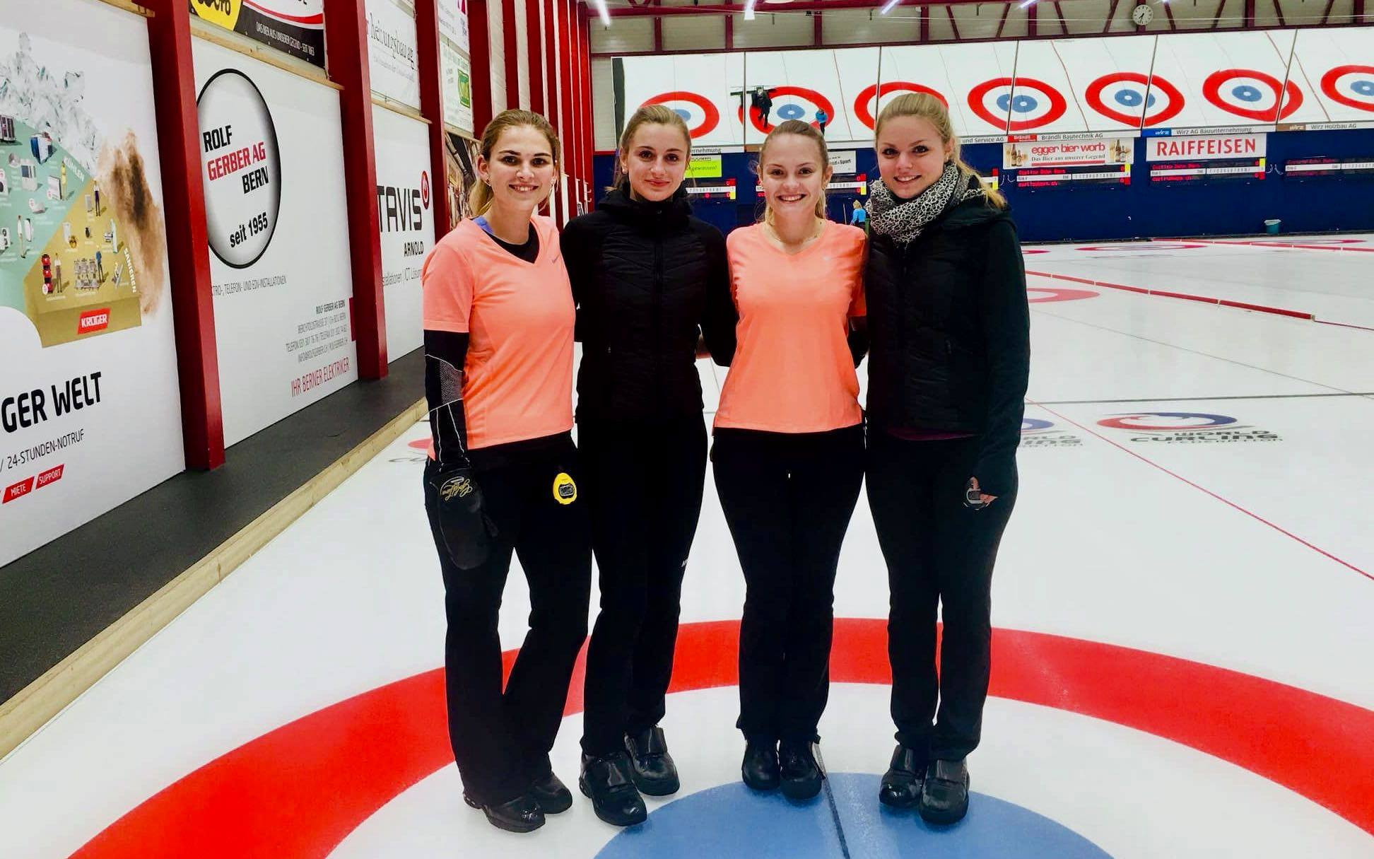 There is a lot of expectation on the Swiss women's curling team ©Swiss University Sports/Facebook