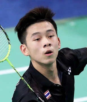 Home favourite earns first-round meeting with men's singles top seed at BWF Thailand Masters