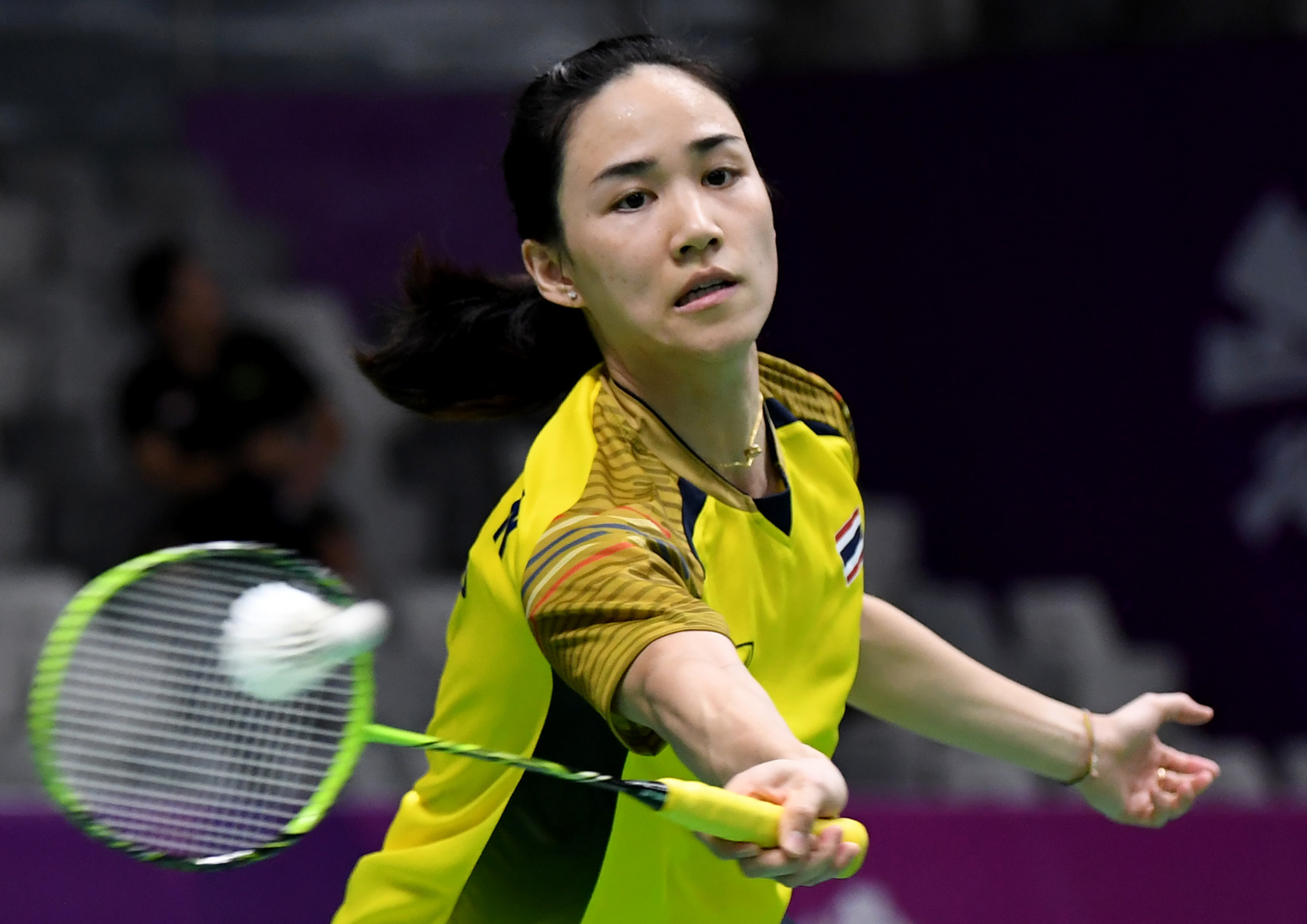 Women's singles top seed Nitchaon Jindapol of Thailand has learned who she will face in the first round tomorrow ©Getty Images