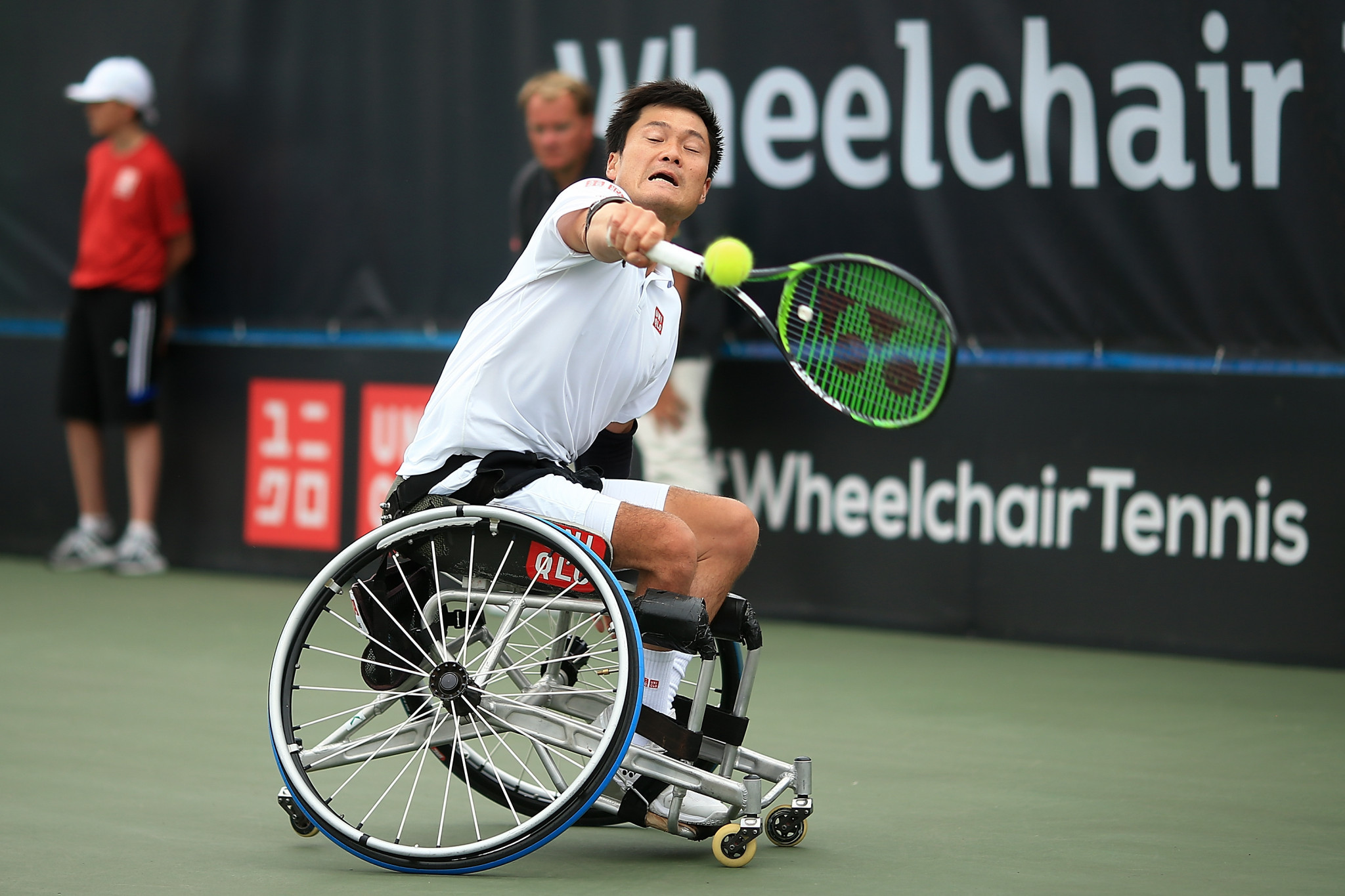 Japan's Shingo Kunieda will be looking to make his mark at the Bendigo Wheelchair Tennis Open this week ©Getty Images