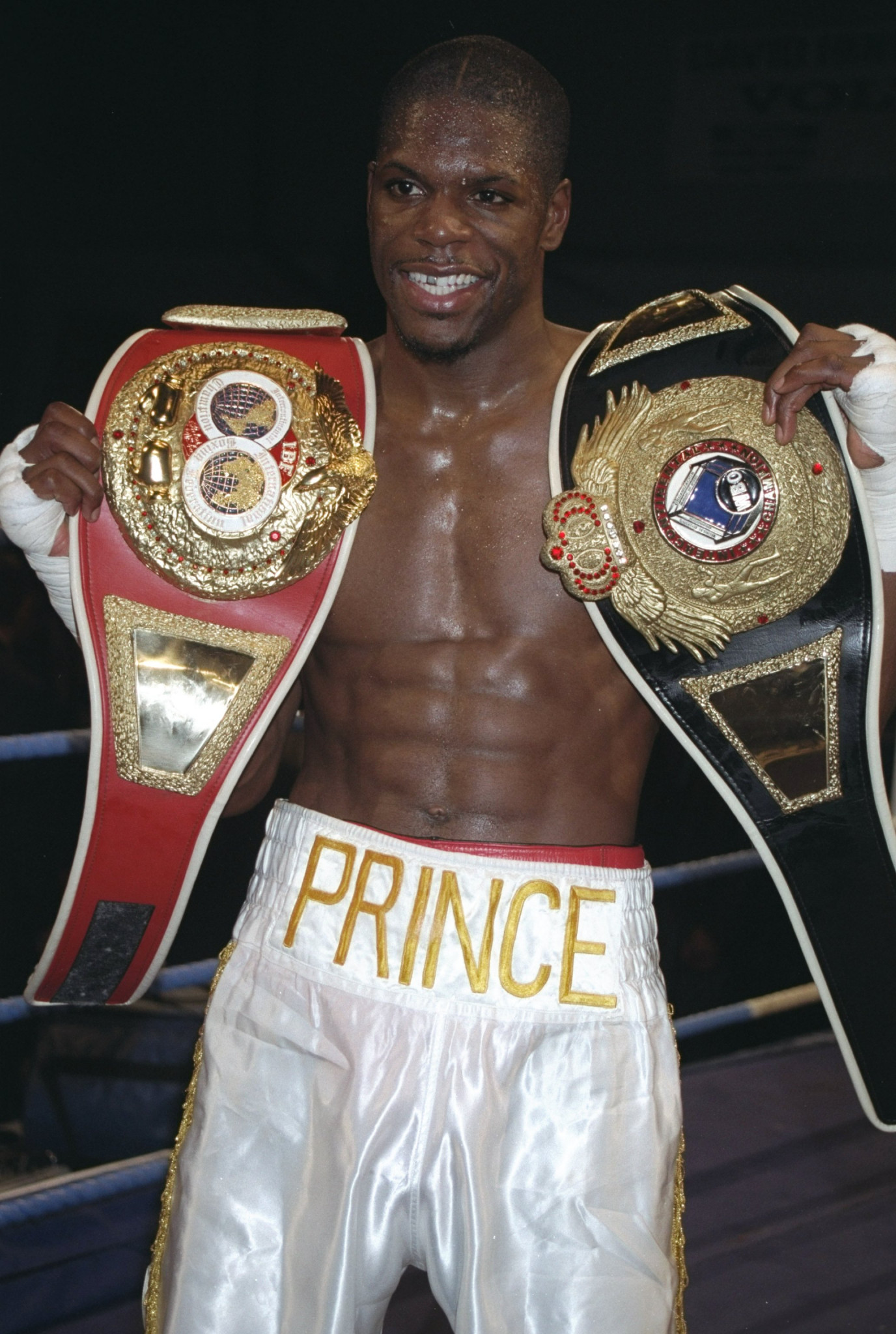 Former boxer Mark Prince has dedicated himself to community work following the loss of his son ©Getty Images