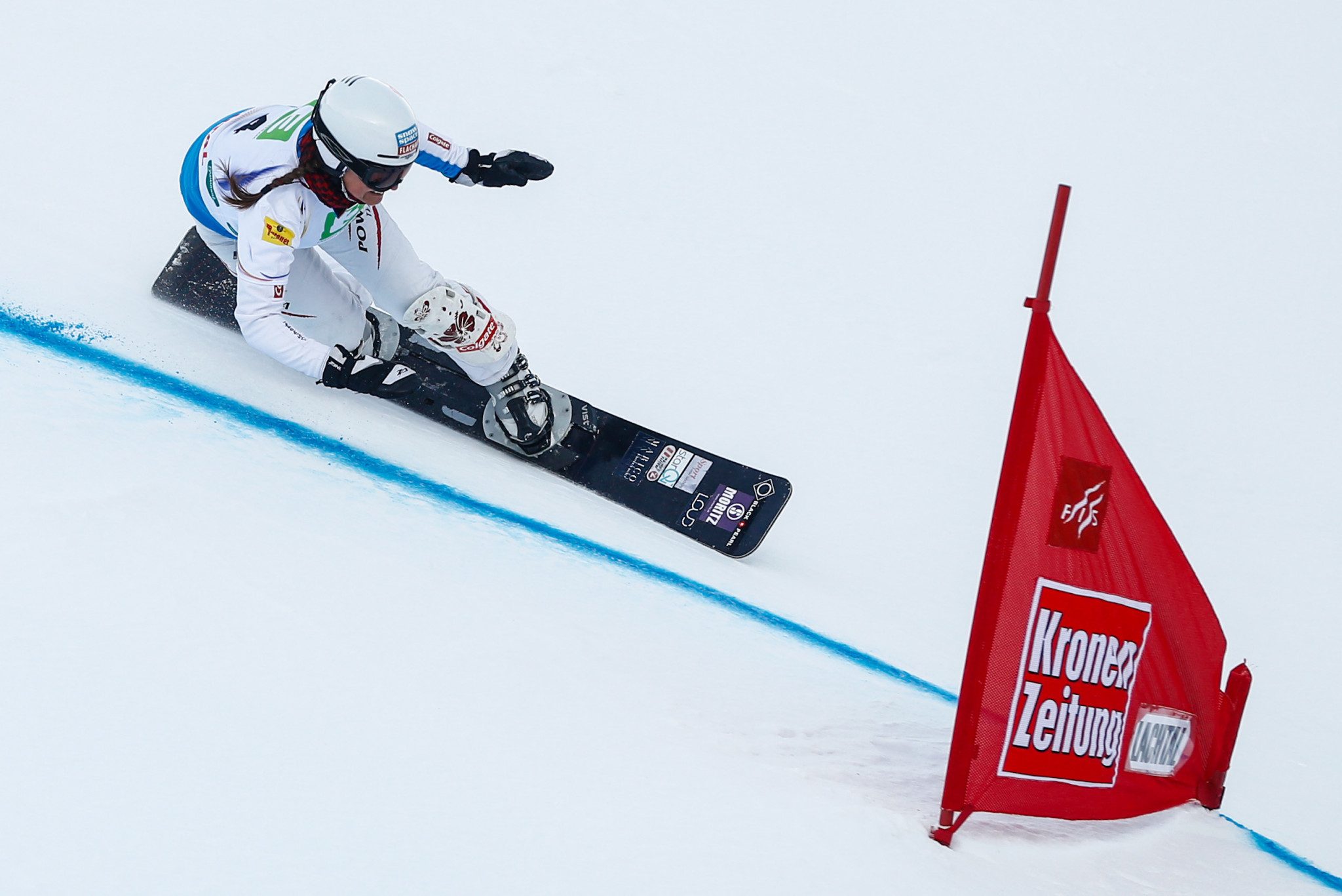 Austria's Claudia Riegler triumphed at the age of 45 in Bad Gastein ©Getty Images