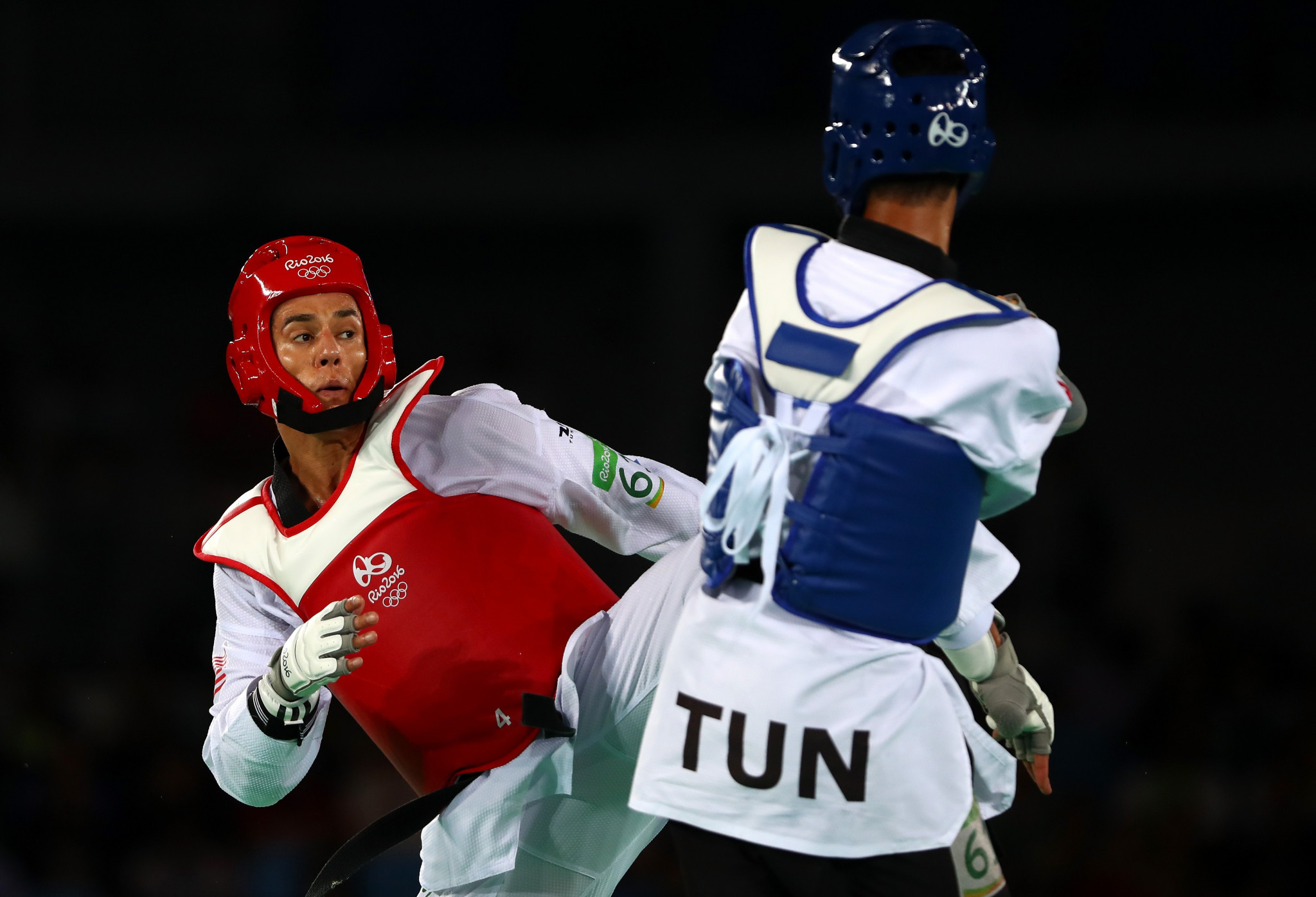A permanent ban against two-time Olympic taekwondo champion Steven Lopez was overturned by an arbitrator last month ©Getty Images