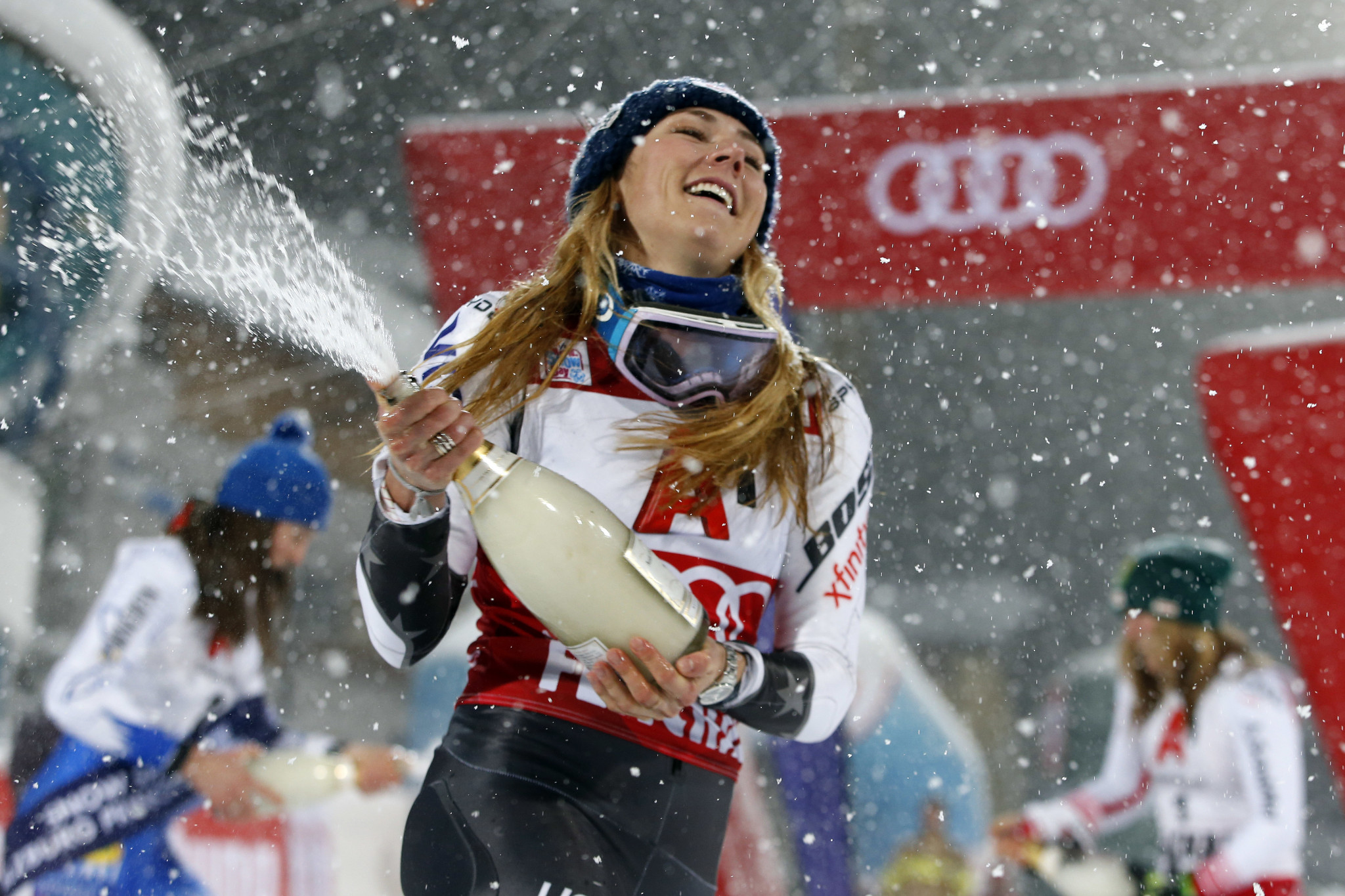 Mikaela Shiffrin, who has won 52 times on the Alpine Skiing World Cup circuit, is considered by some to be the greatest slalom skier of all time ©Getty Images