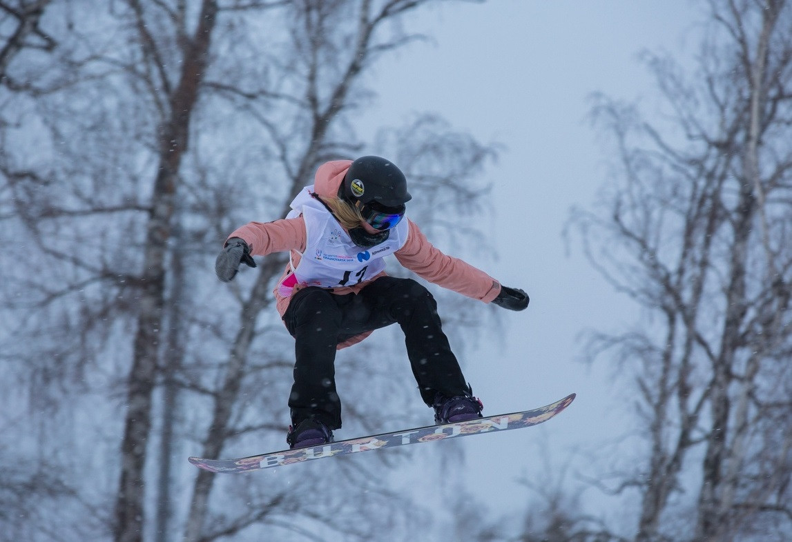The Sopka Cluster hosted a Snowboard Russian Cup stage last month ©Krasnoyarsk 2019
