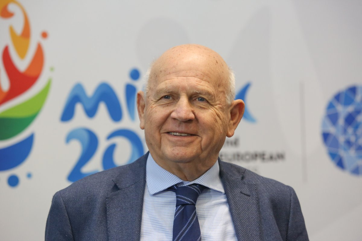 EOC President Janez Kocijančič claimed earlier this month that they had received strong bids for the Games ©Minsk 2019
