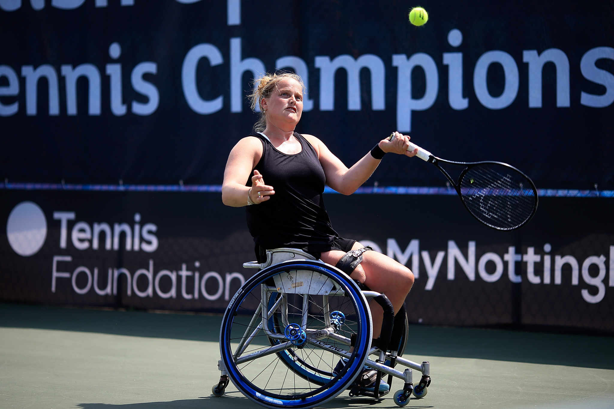 Second seed Van Koot secures quarter-final place on opening day of Bendigo Wheelchair Tennis Open
