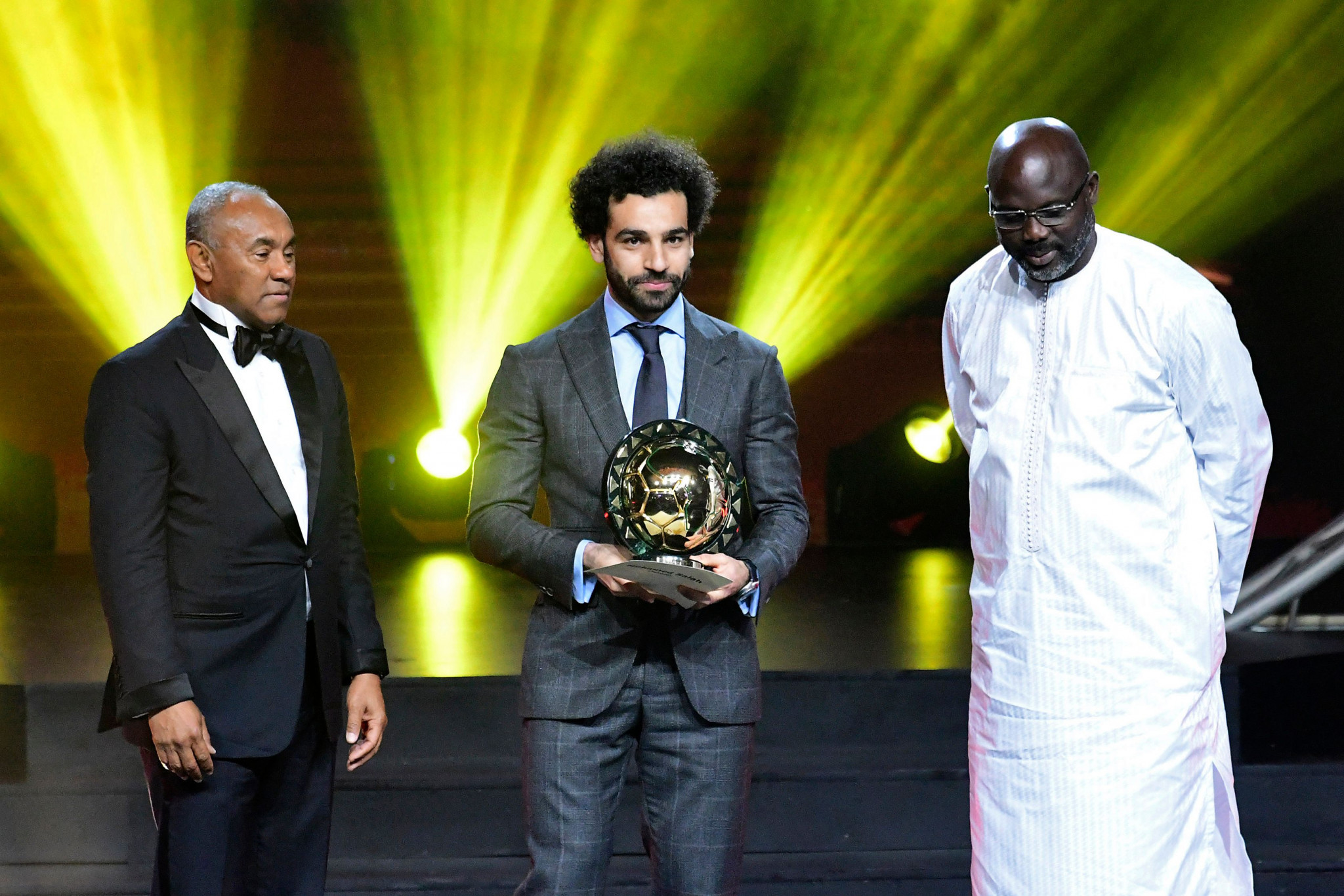 Liverpool forward Salah named African Footballer of the Year for second year running