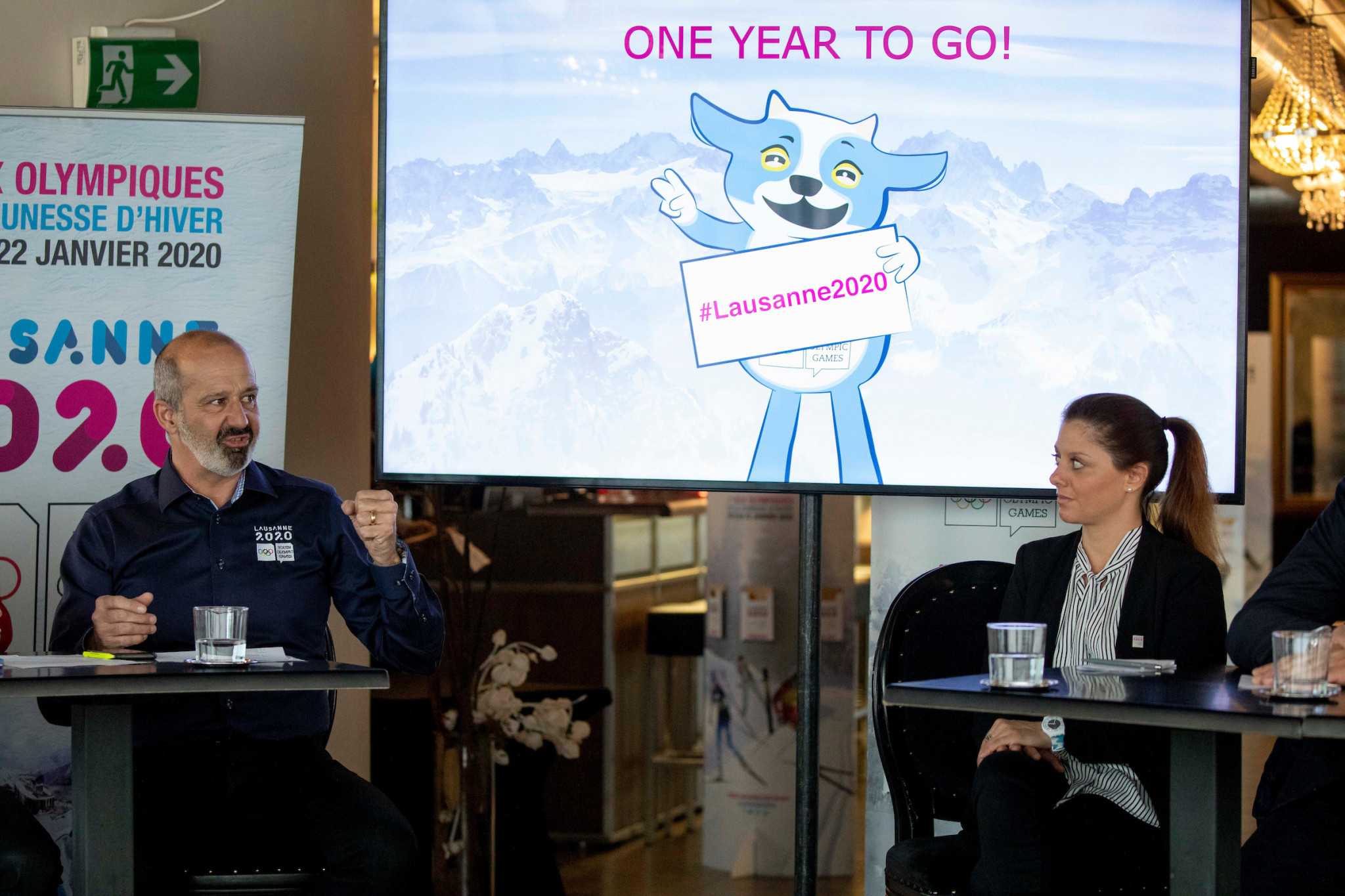 Organisers provided an update on their progress for next year's Winter Youth Olympic Games ©IOC