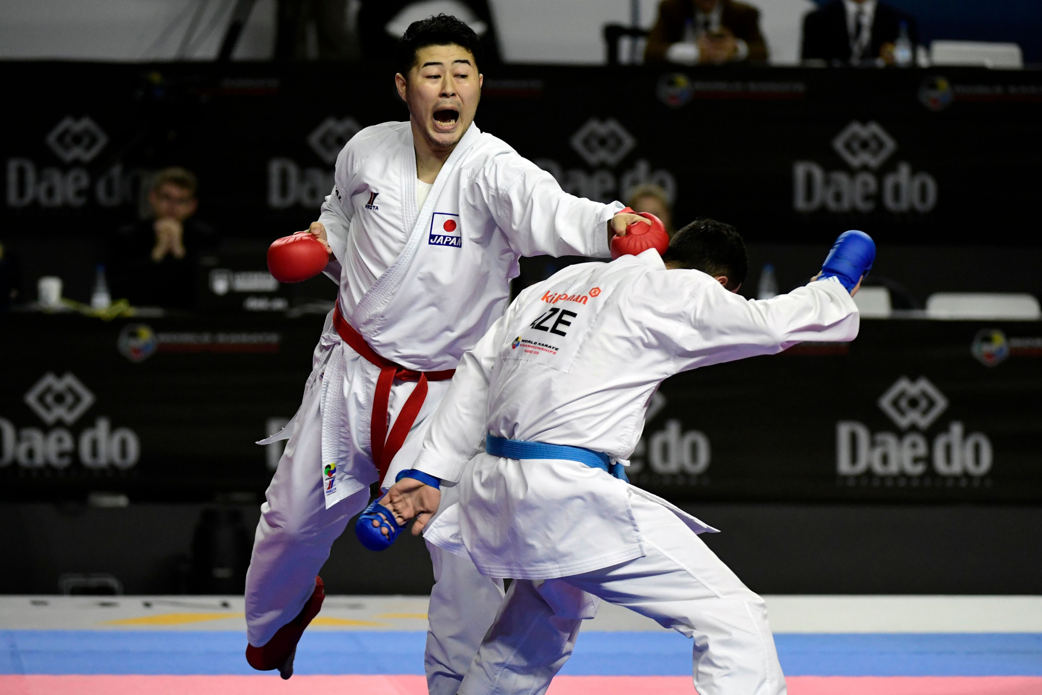 The World Championships in the Spanish capital was the 24th edition of karate's flagship event ©Getty Images