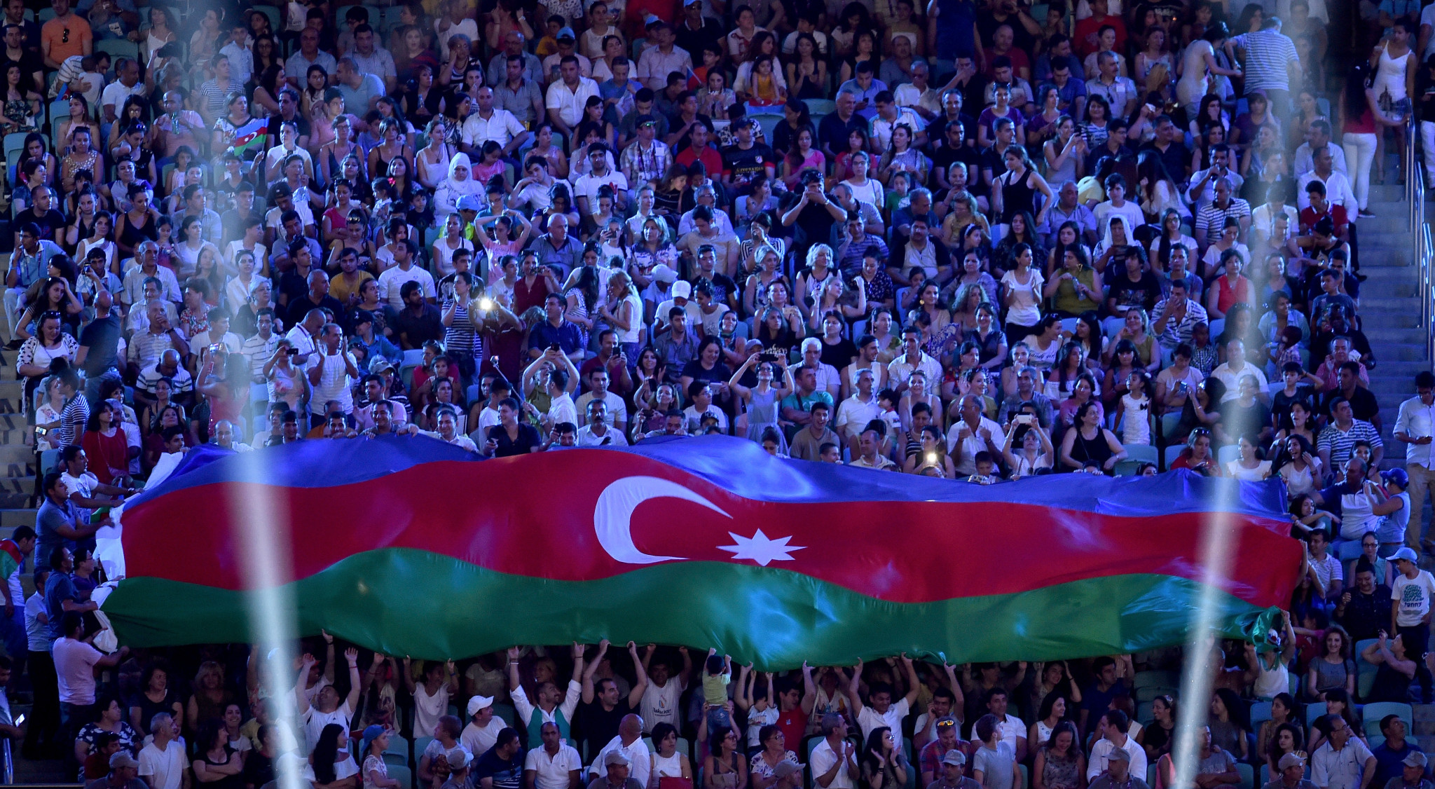 Around 170,000 tourists reportedly visited Azerbaijan during the 2015 European Games in Baku ©Getty Images