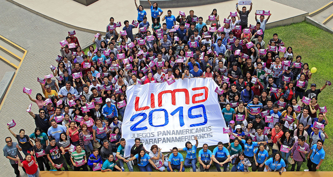 Applicants for the Lima 2019 volunteer programme now have access to virtual training ©Lima 2019