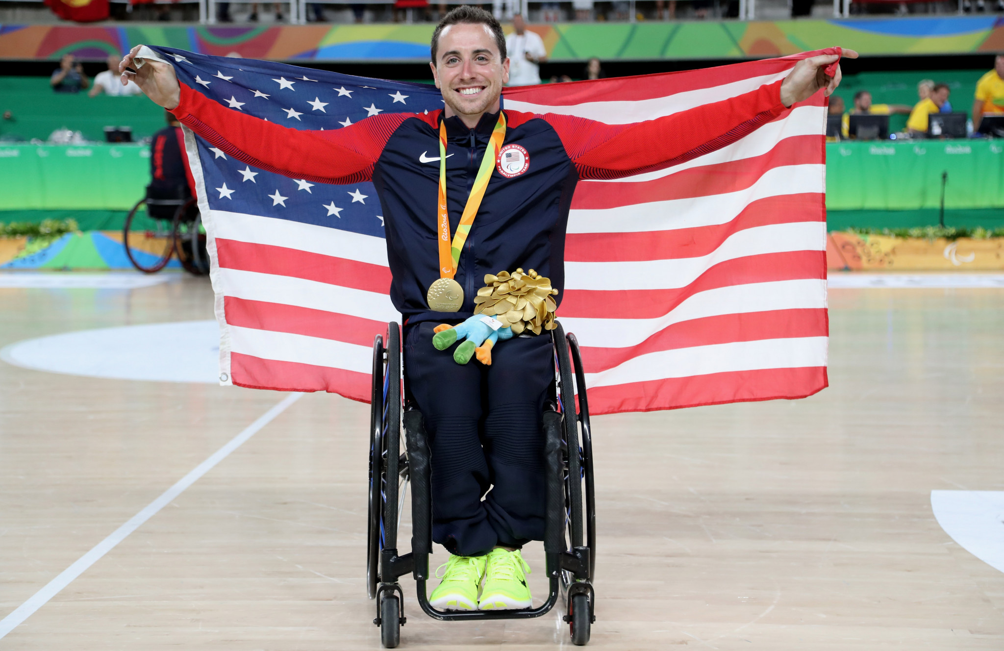 Steve Serio, who won gold with the US wheelchair basketball team at the 2015 Parapan American Games and 2016 Rio Paralympics, is in the initial selection for the 2019 team ©Getty Images