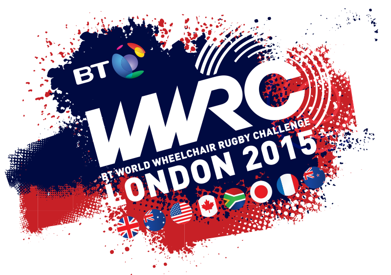 Eight countries are competing in the BT Wheelchair Rugby Challenge in London ©WWRC