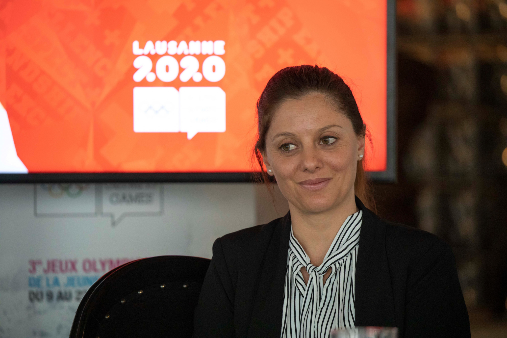 Virginie Faivre was appointed to replace the late Patrick Baumann as Lausanne 2020 President ©IOC
