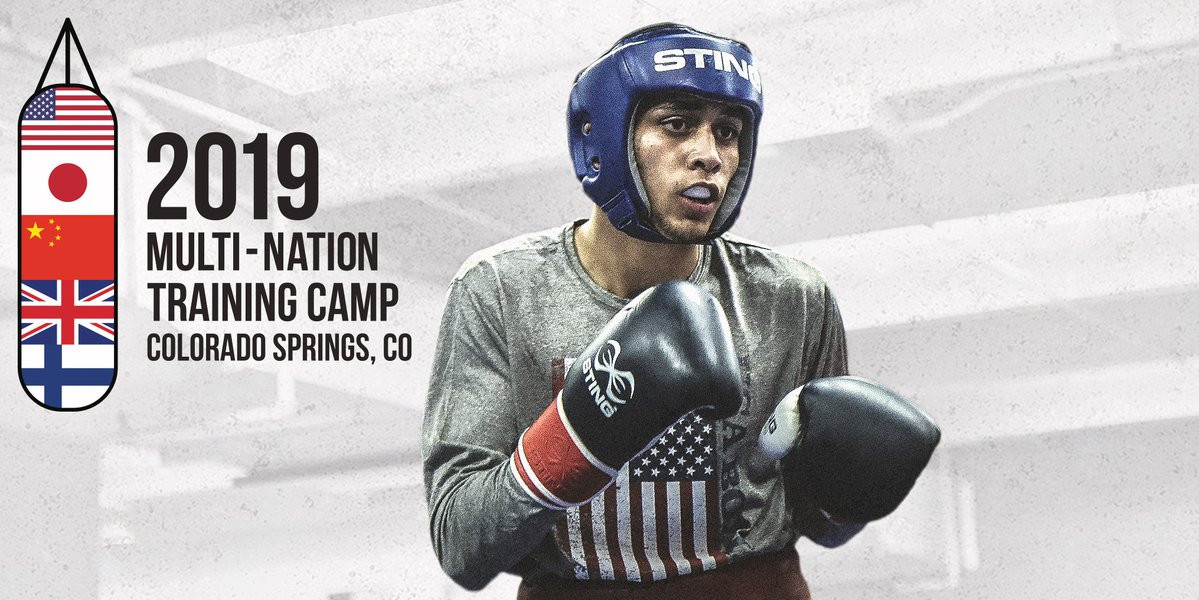 The US Olympic Training Centre is hosting the largest multi-nation camp in USA Boxing history, with four other nations attending ©USA Boxing