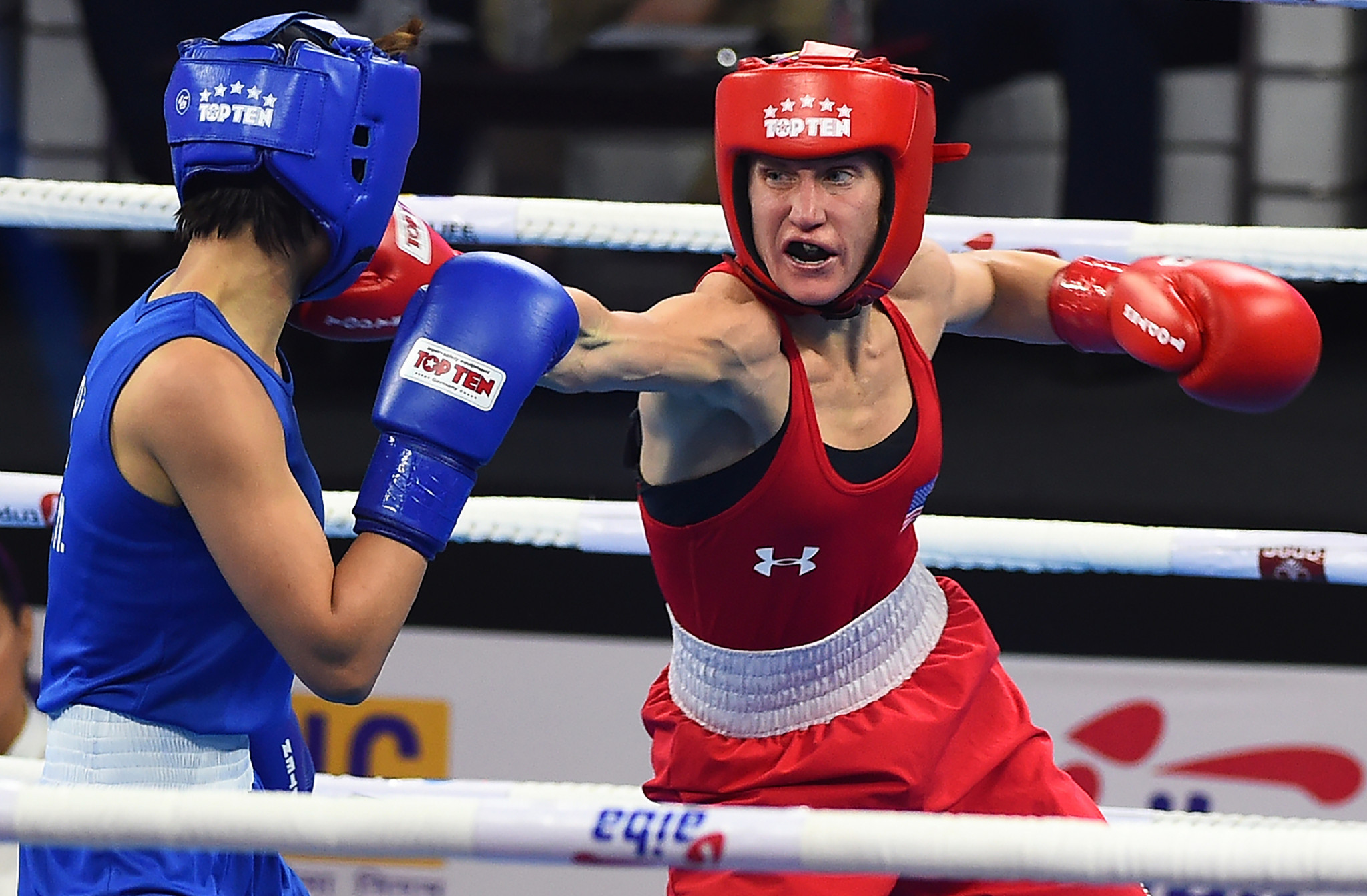 Virginia Fuchs, winner of the bronze medal at the 2018 New Delhi World Boxing Championships, will attend the multi-nation training camp at the U.S. Olympic Training Center in Colorado Springs ©Getty Images