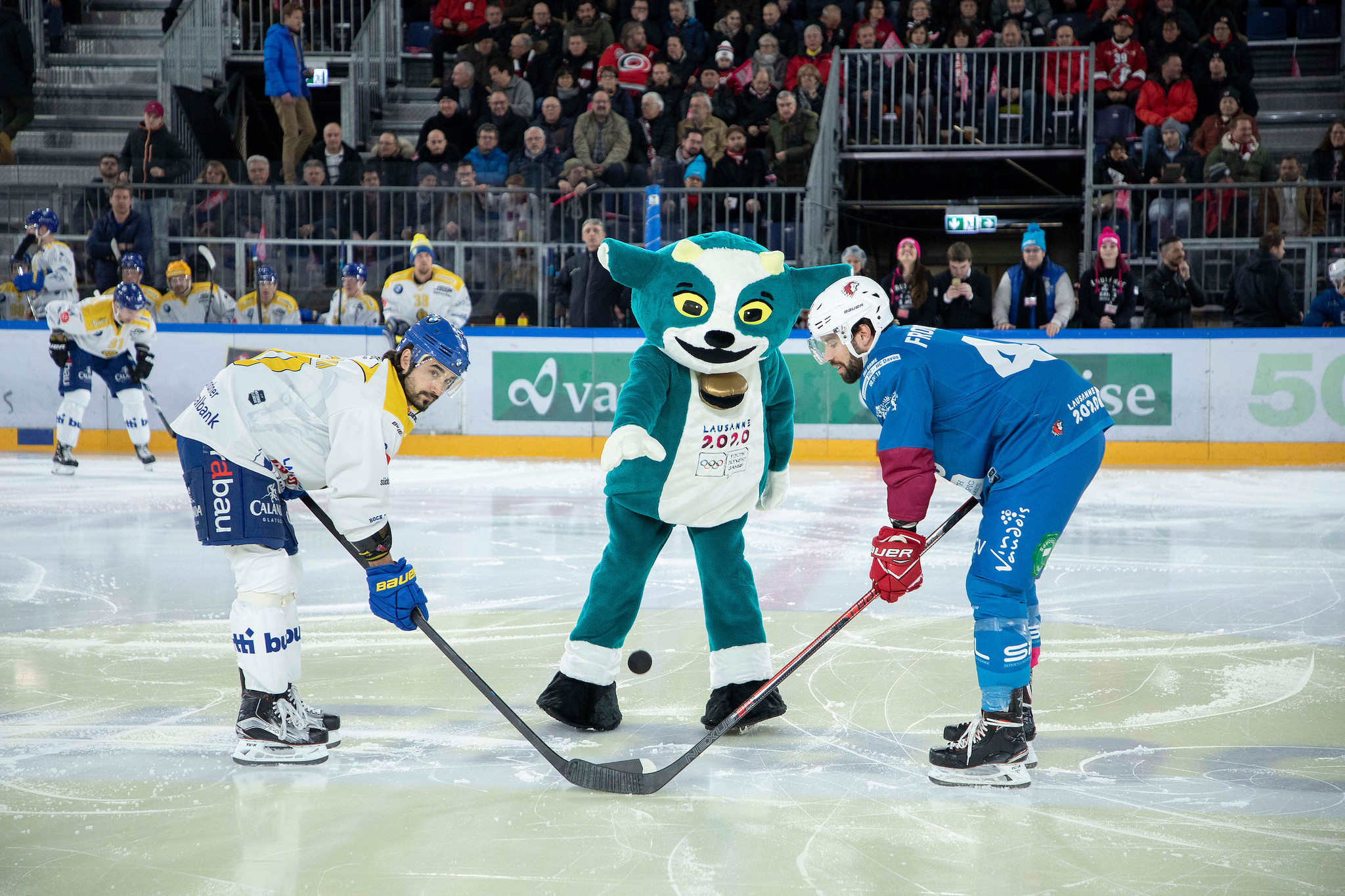 Lausanne 2020 unveiled their mascot, a cross between a dog, goat and cow, last week ©IOC