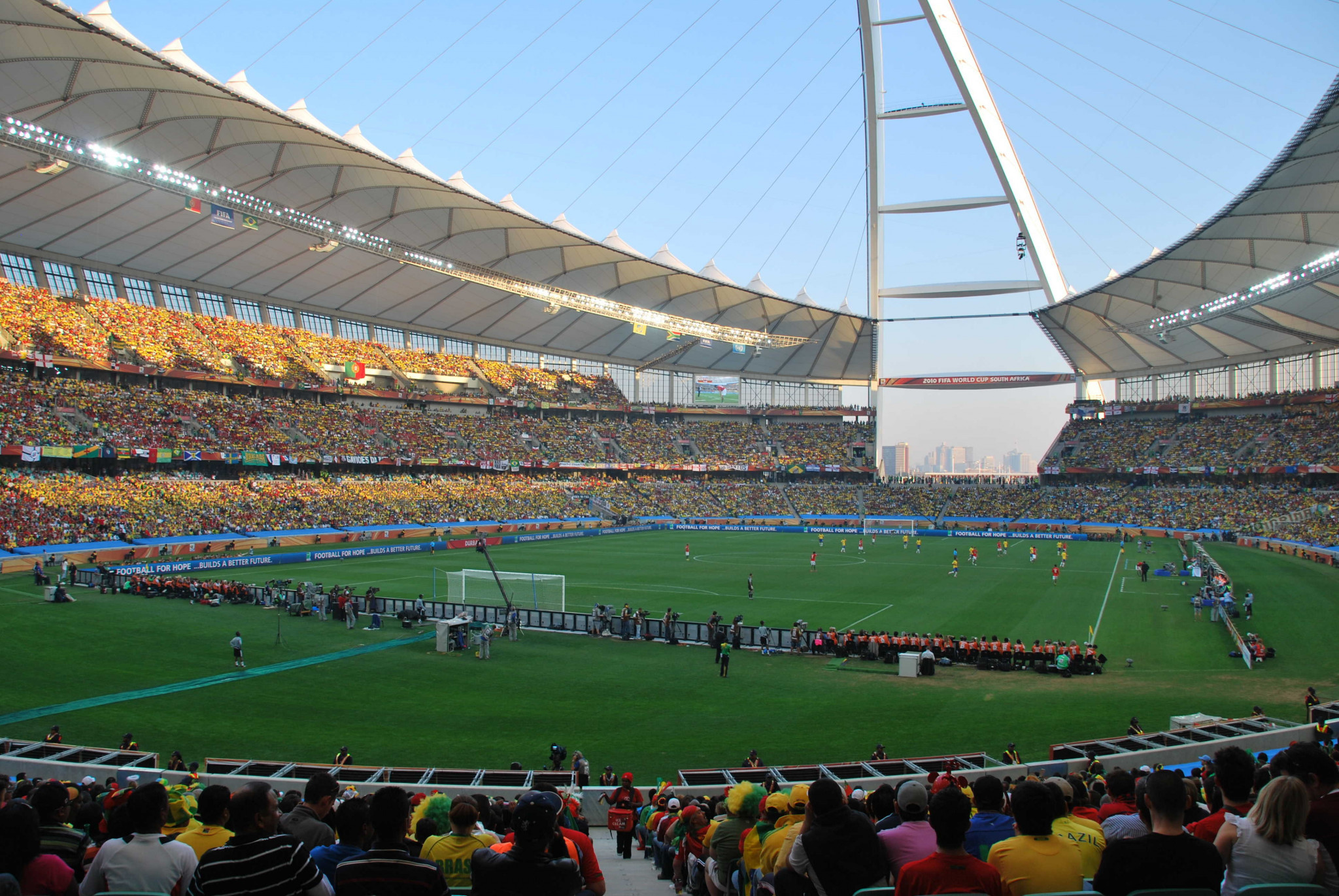 South African Football Association chief executive Russell Paul claimed that facilities built for the 2010 FIFA World Cup should have given them the edge over rivals Egypt to host the 2019 Africa Cup of Nations ©Getty Images