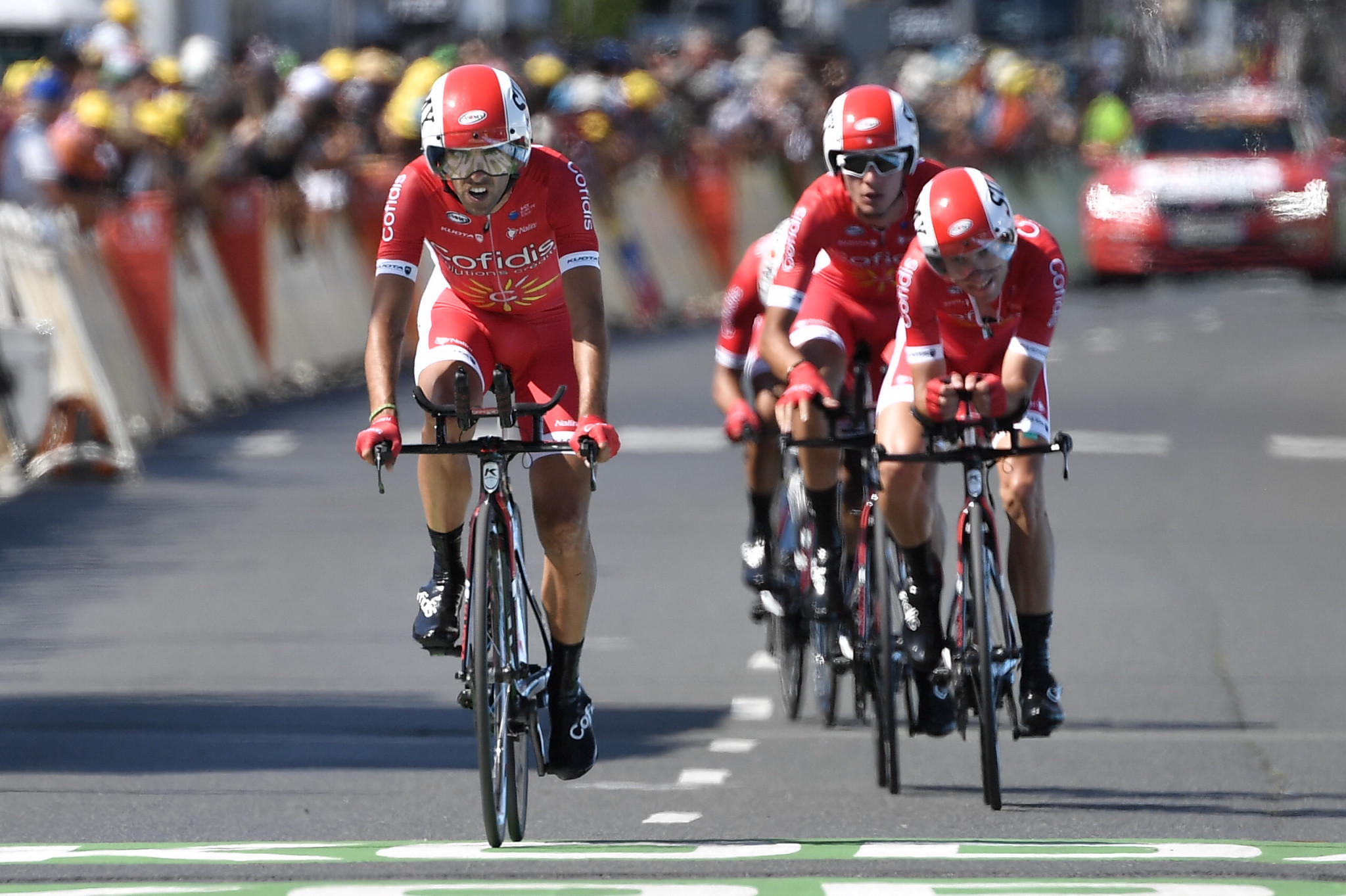 Cofidis Solutions Crédits have been awarded a wildcard to this year's Tour de France ©Getty Images
