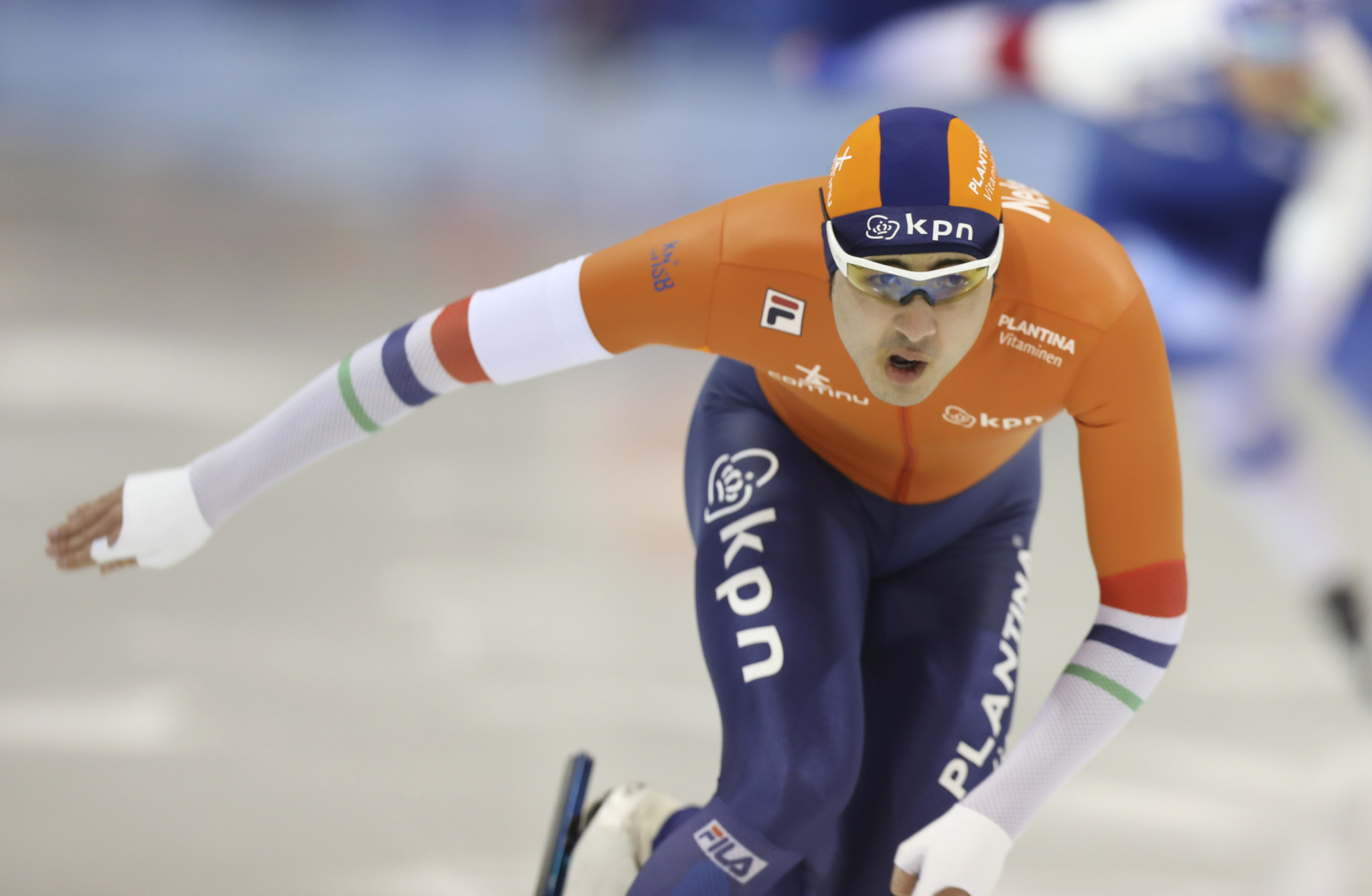 The Netherlands' Kai Verbij set a track record in the men's 1,000m ©Getty Images