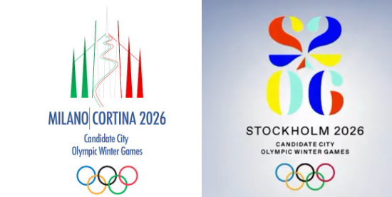 The IOC confirmed receipt of the two candidature files today ©Milan-Cortina d'Ampezzo 2026/Stockholm 2026