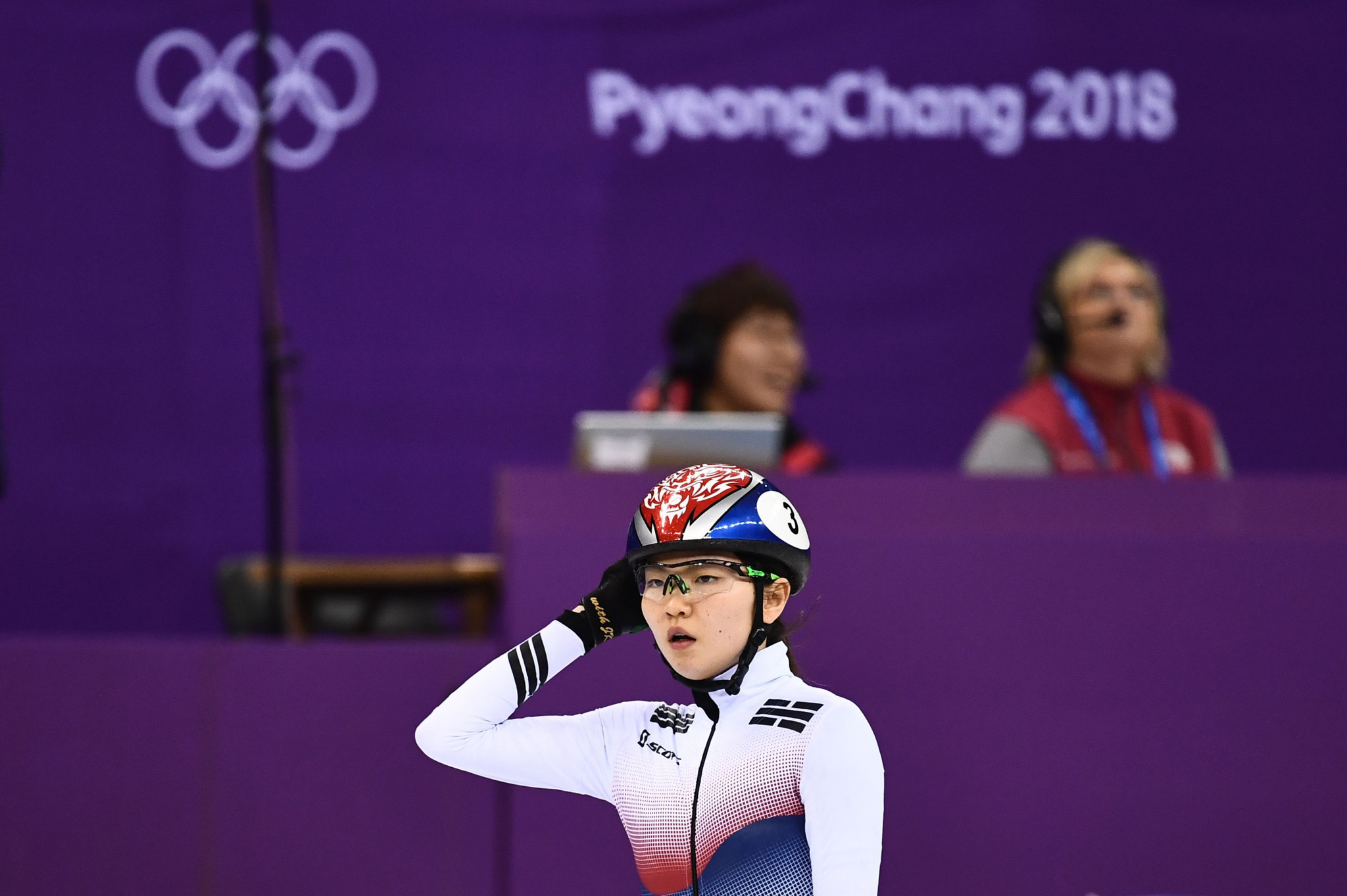 South Korean short track speed skater Shim Suk-hee filed a complaint against her former coach last month over an alleged sexual assault ©Getty Images