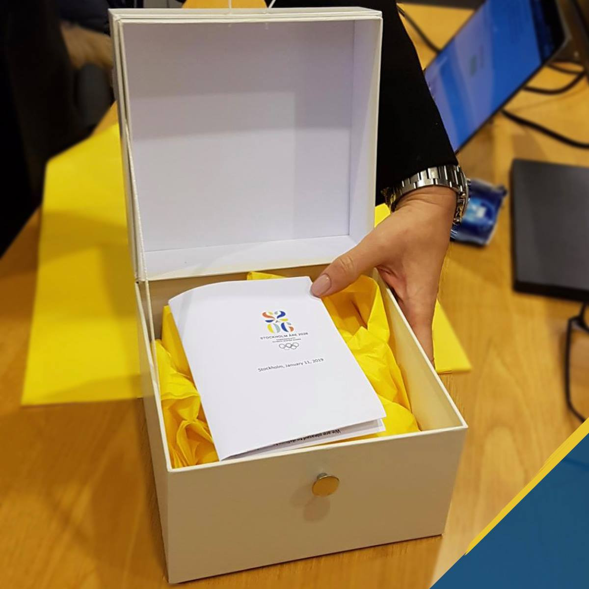 Sweden's bid for the 2026 Winter Olympics and Paralympic Games is now a joint candidacy with  Åre ©SOK