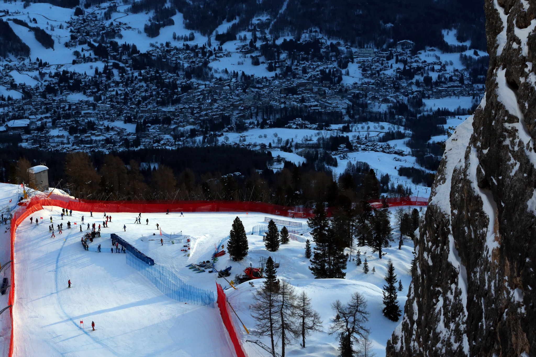 Ski resort Cortina d'Ampezzo is hoping to jointly stage the 2026 Winter Olympic and Paralympic Games with Milan ©Getty Images