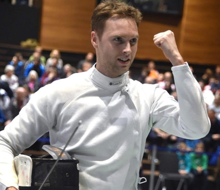 Alexandre Bardenet has won the FIE Men's Épée World Cup in Heidenheim ©FIE