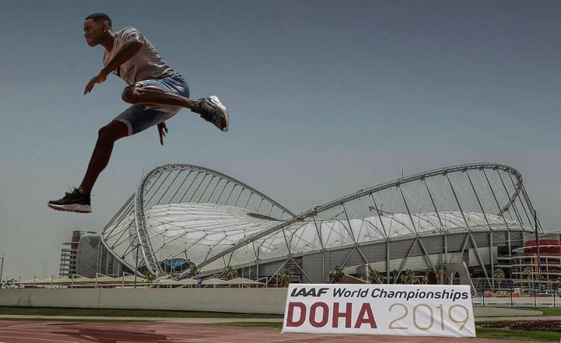 This year's IAAF World Championships in Doha is set to be the first held in the Middle East and is expected to attract 2,000 athletes from 200 countries ©Doha 2019