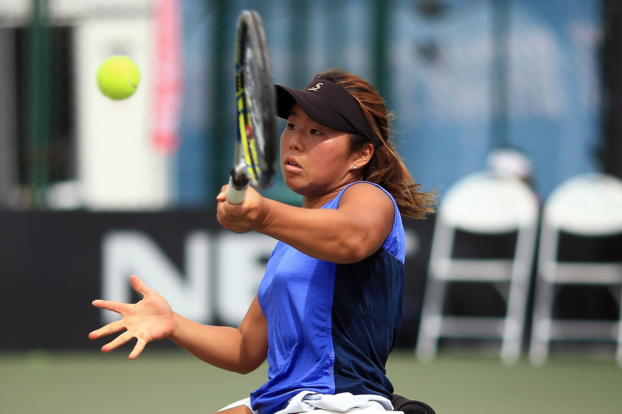 Yui Kamiji progressed to the women's singles final ©Getty Images