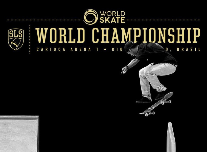 France's Aurélien Giraud topped the quarter-final of the SLS World Championships in Rio de Janeiro ©World Skate