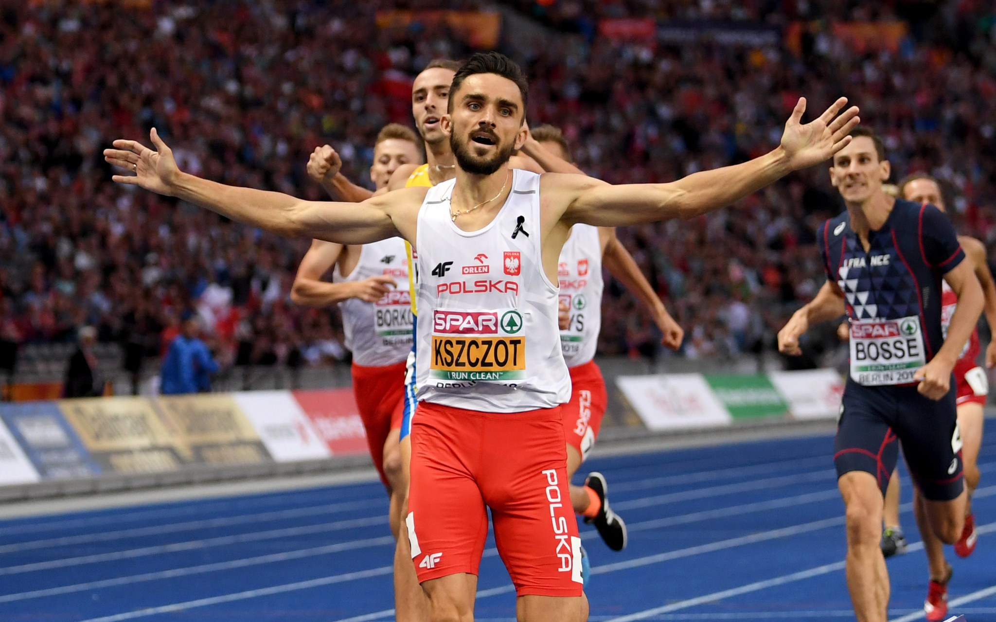 Poland's European 800m champion Adam Kszczot has backed the proposed new 2x2x400m event at the IAAF World Relay Championships in Yokohama ©Getty Images