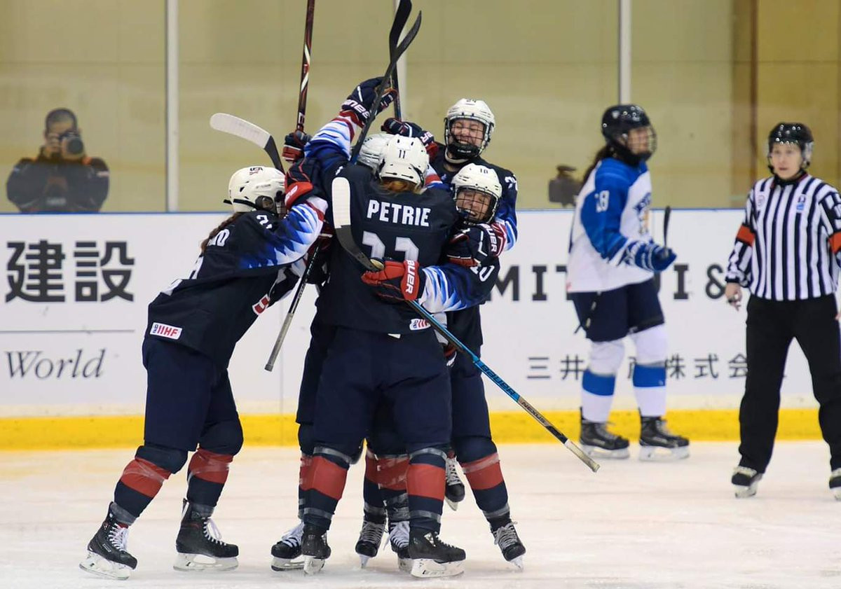 The United States thrashed Finland 7-1 to advance into the final of the IIHF Under-18 Women's World Championship in Obihiro ©IIHF