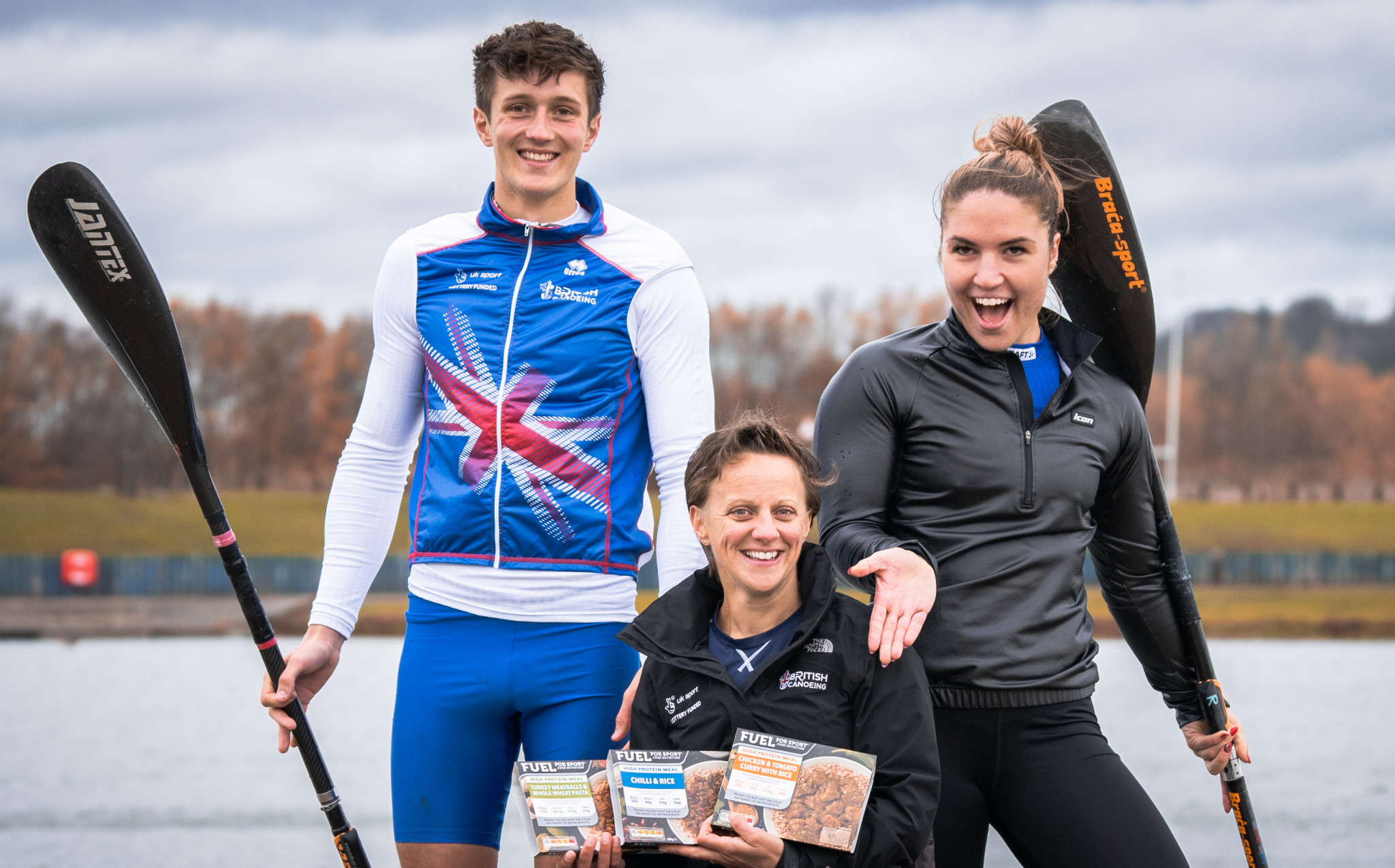 British Canoeing announce Fuel for Sport as official performance meal provider